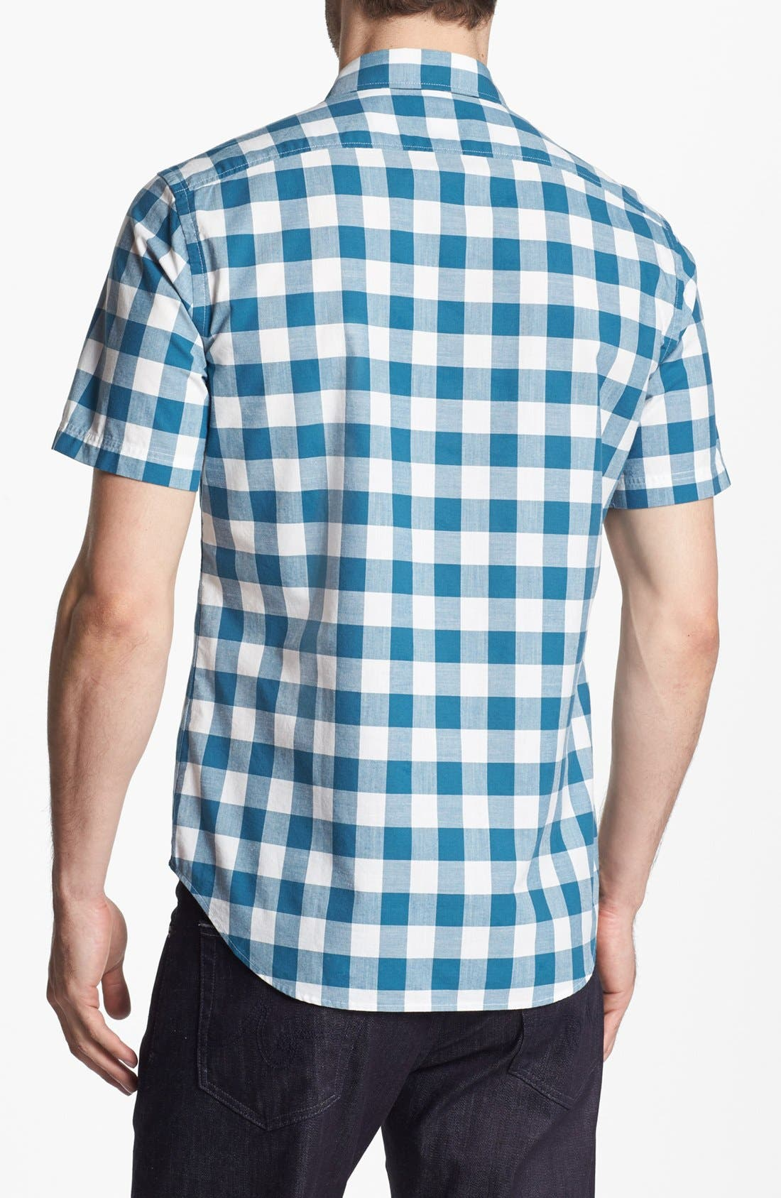 Alternate Image 2  - Burberry Brit 'Henry' Short Sleeve Sport Shirt