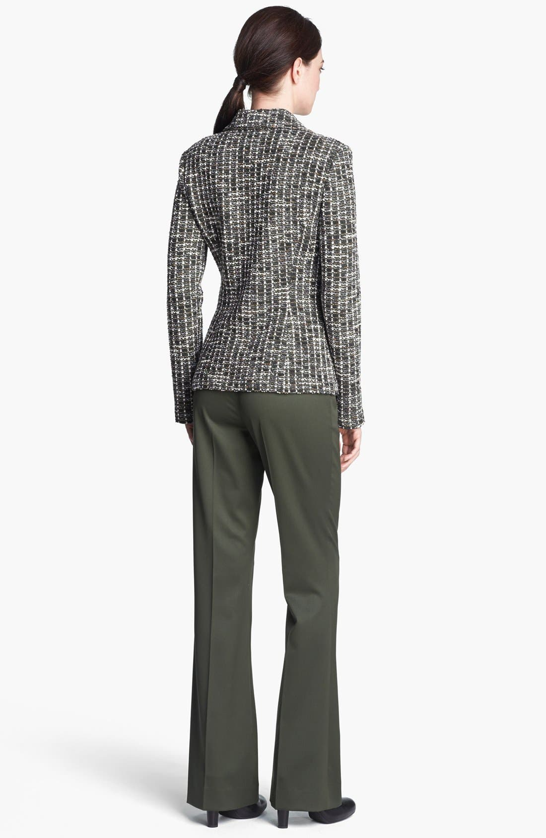 Alternate Image 3  - St. John Collection Loden Check Tweed Knit Jacket