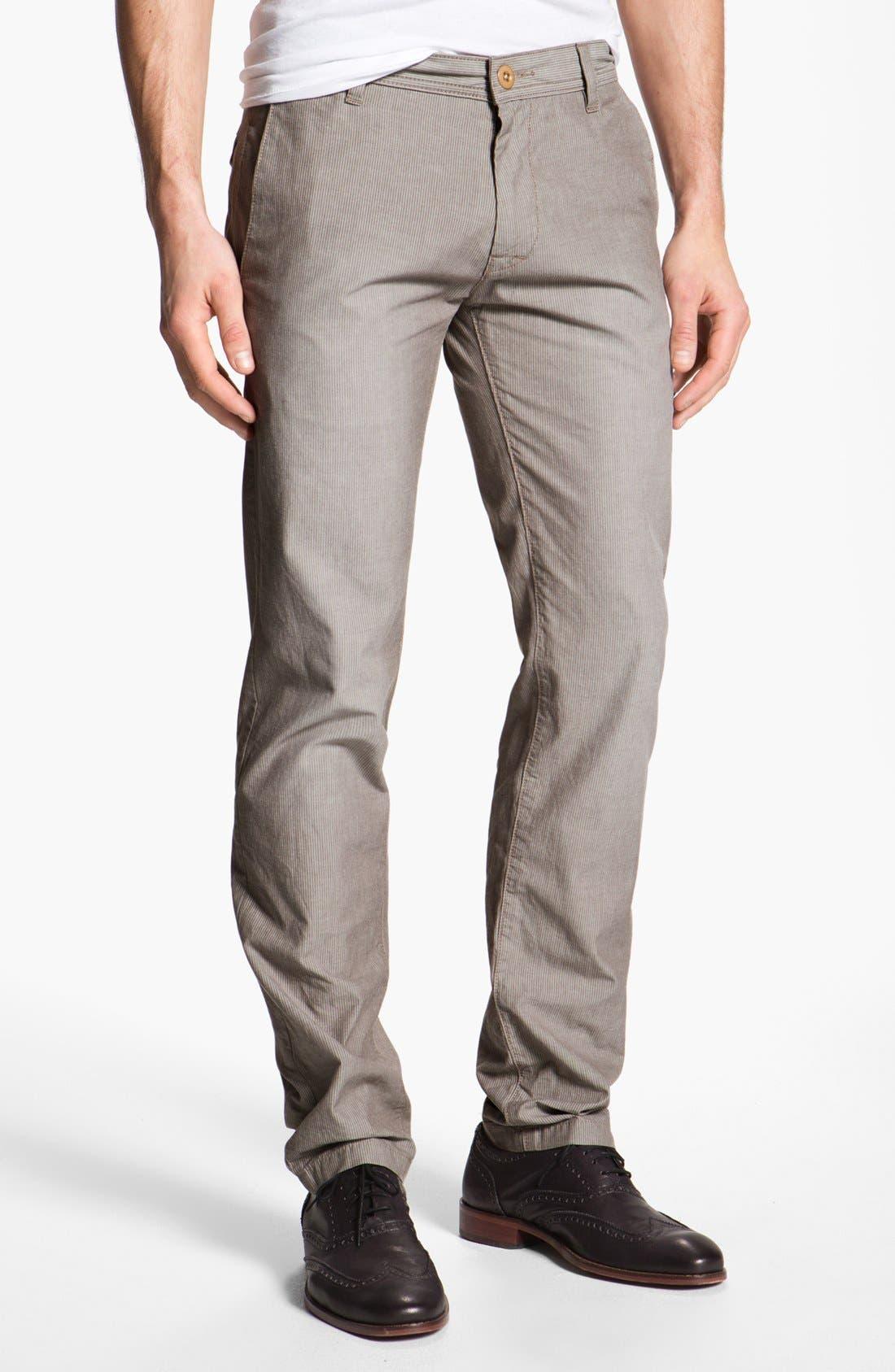 Main Image - BOSS Orange 'Sairy' Slim Straight Leg Chinos