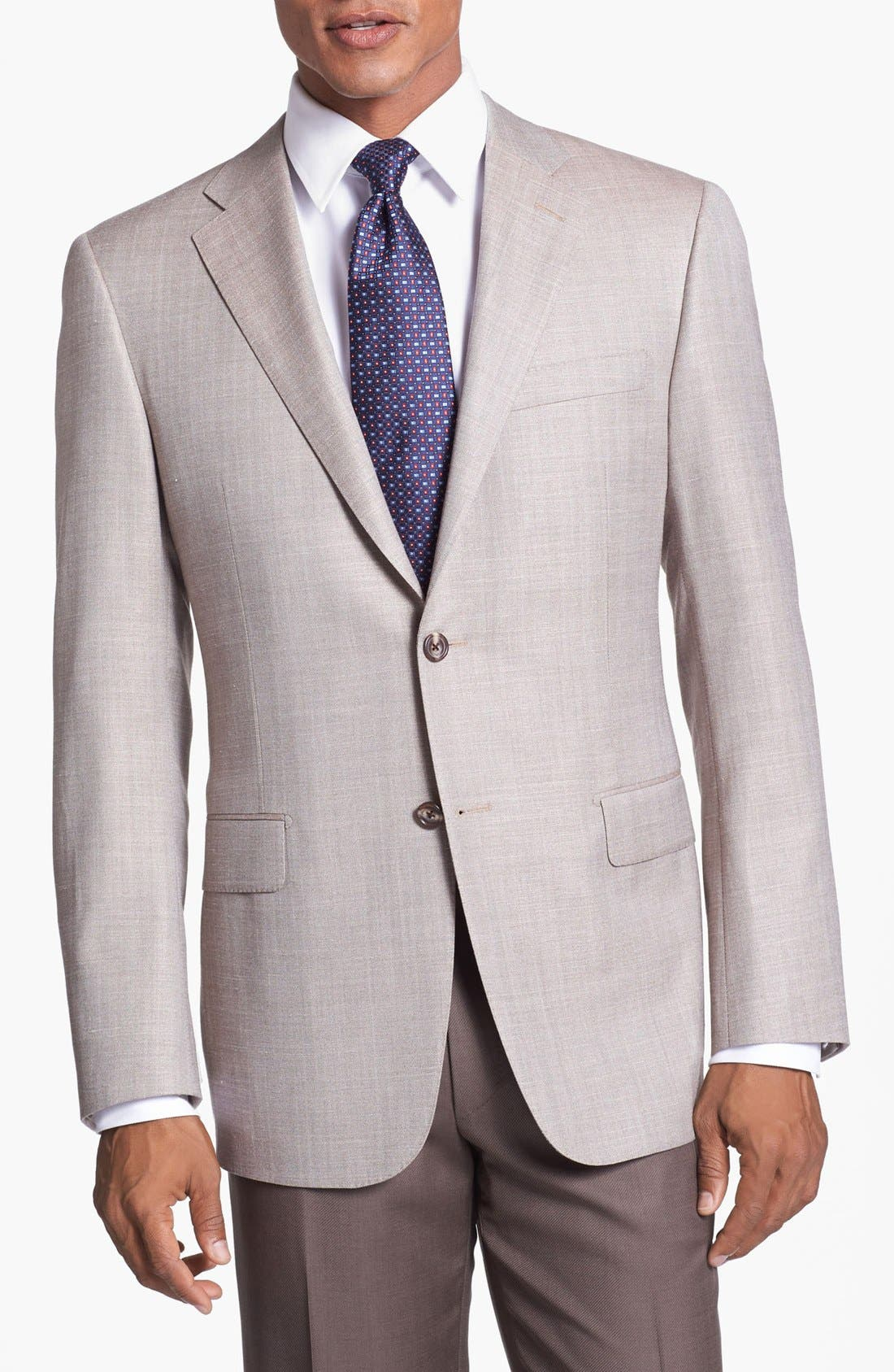 Alternate Image 1 Selected - Hickey Freeman Wool Blend Sportcoat