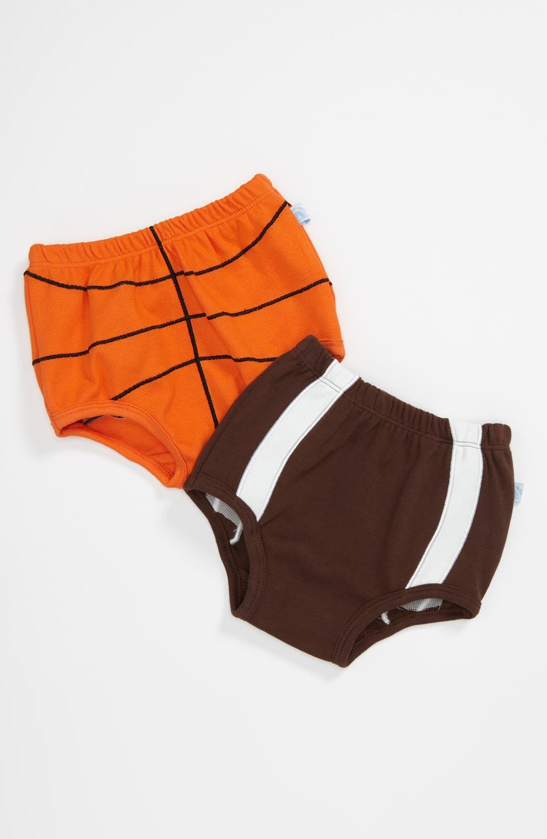Alternate Image 1 Selected - RuggedButts 'Sports' Diaper Cover (Set of 2) (Baby)