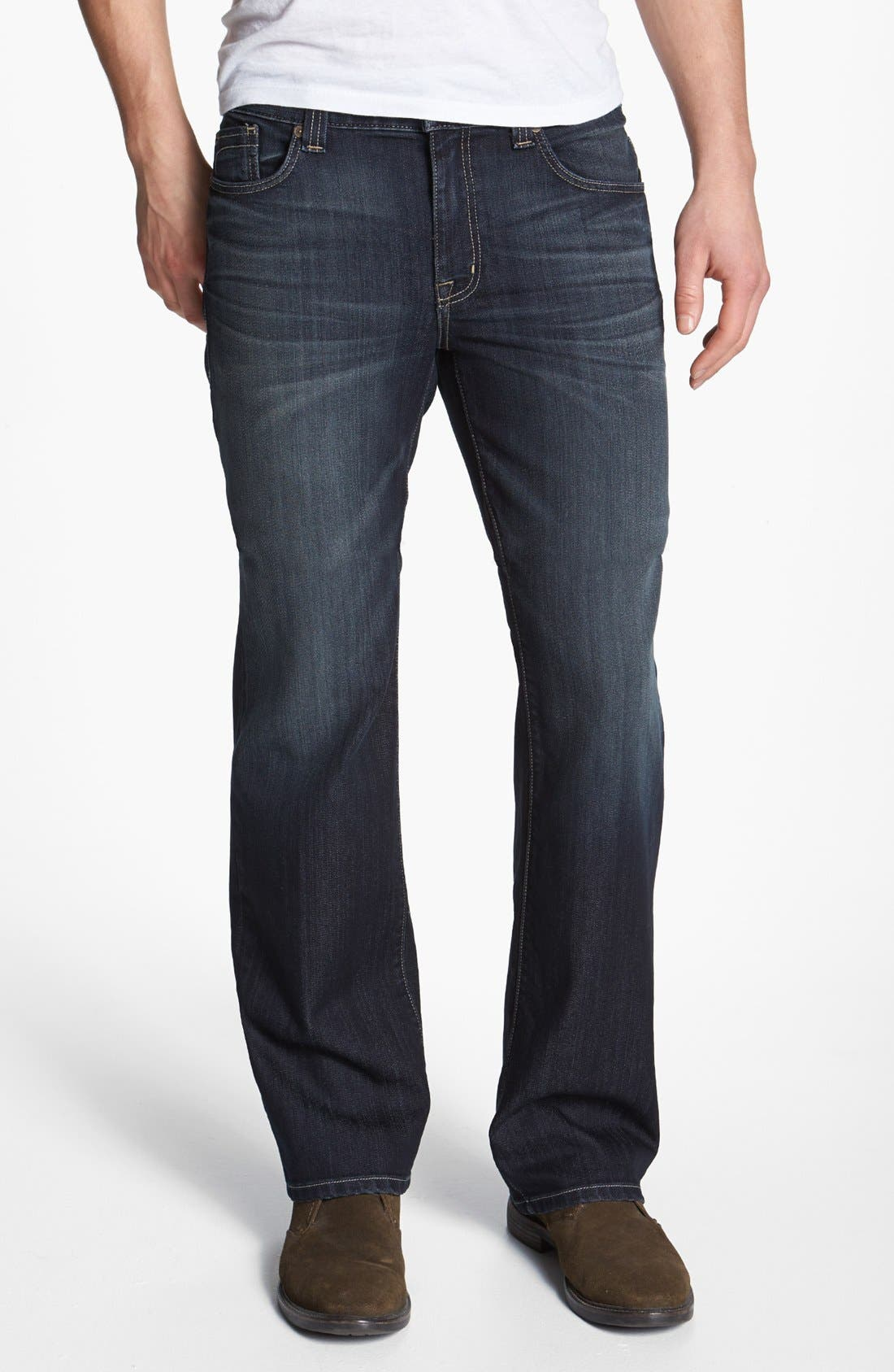Alternate Image 1 Selected - Fidelity Denim 'Camino' Relaxed Leg Jeans (Trigger Marx)