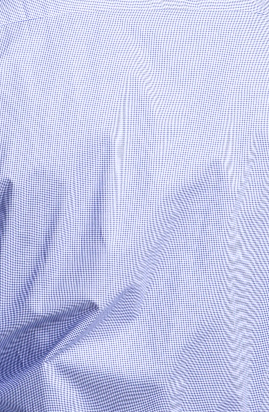 Alternate Image 3  - Paul Smith London Slim Fit Microcheck Dress Shirt