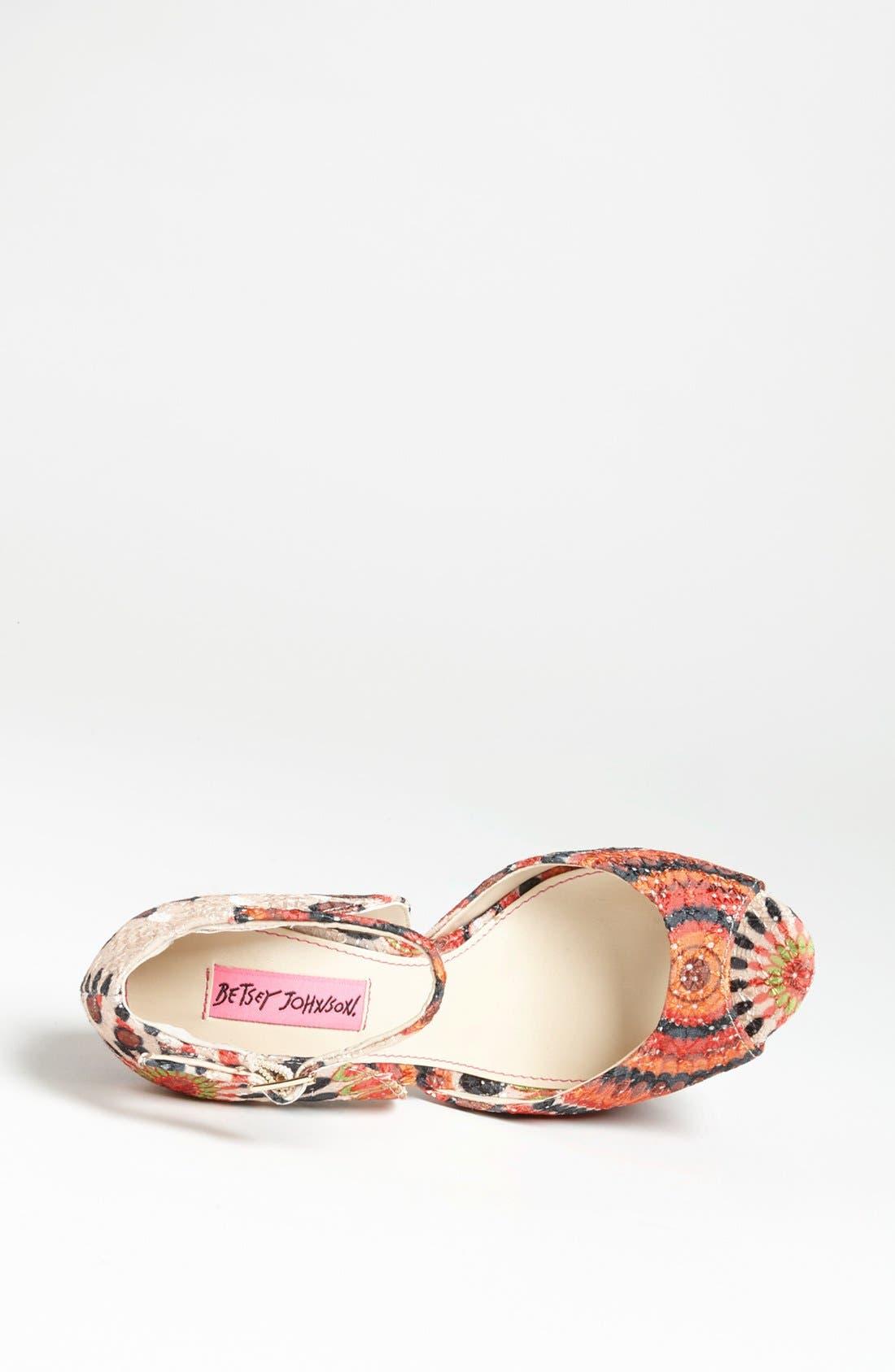 Alternate Image 3  - Betsey Johnson 'Bandit' Sandal