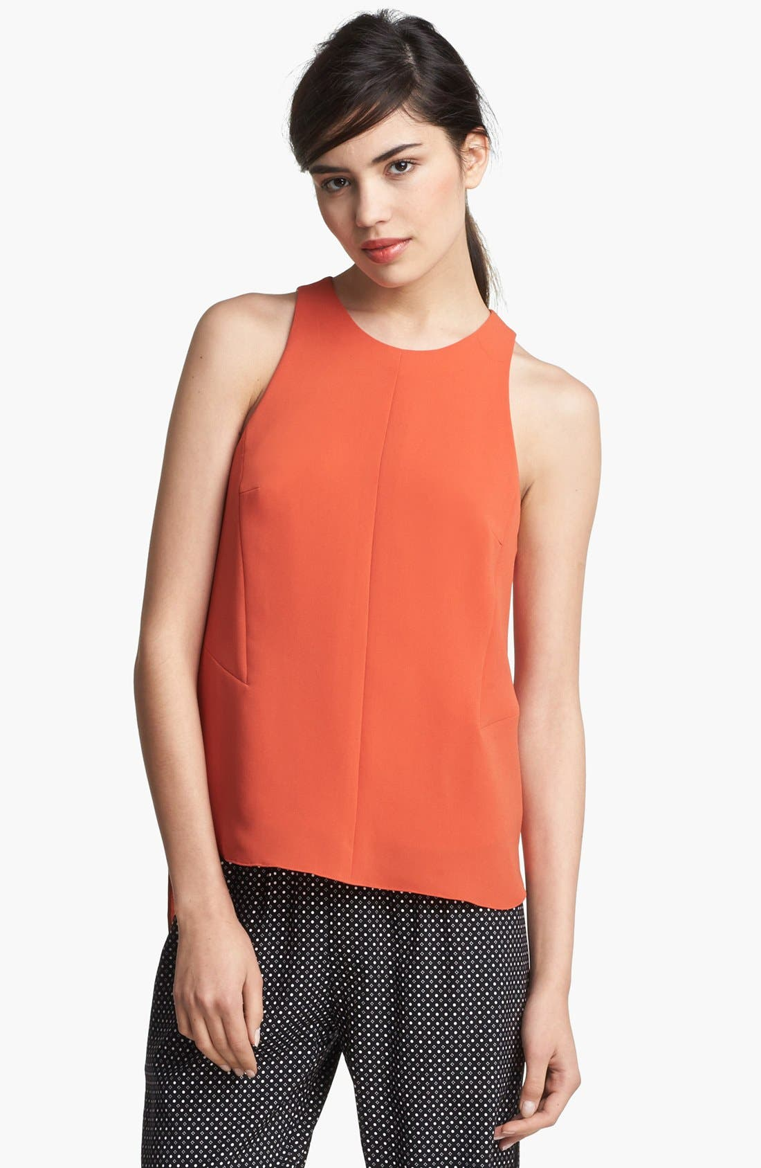 Main Image - rag & bone 'Adeline' High/Low Racerback Top