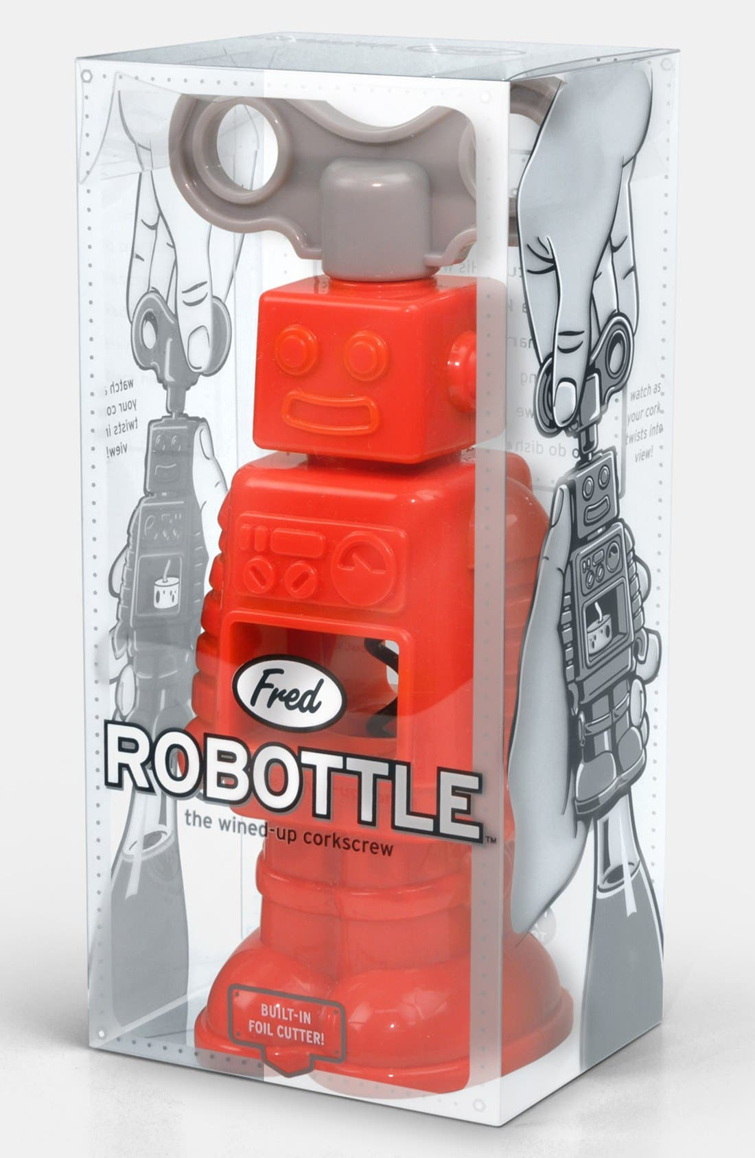 Alternate Image 1 Selected - Fred & Friends Robot Corkscrew