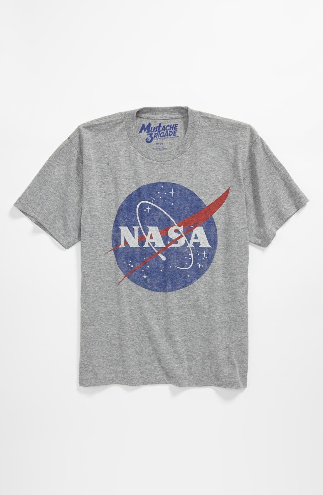 Alternate Image 1 Selected - Mustache Brigade 'NASA' T-Shirt (Big Boys)