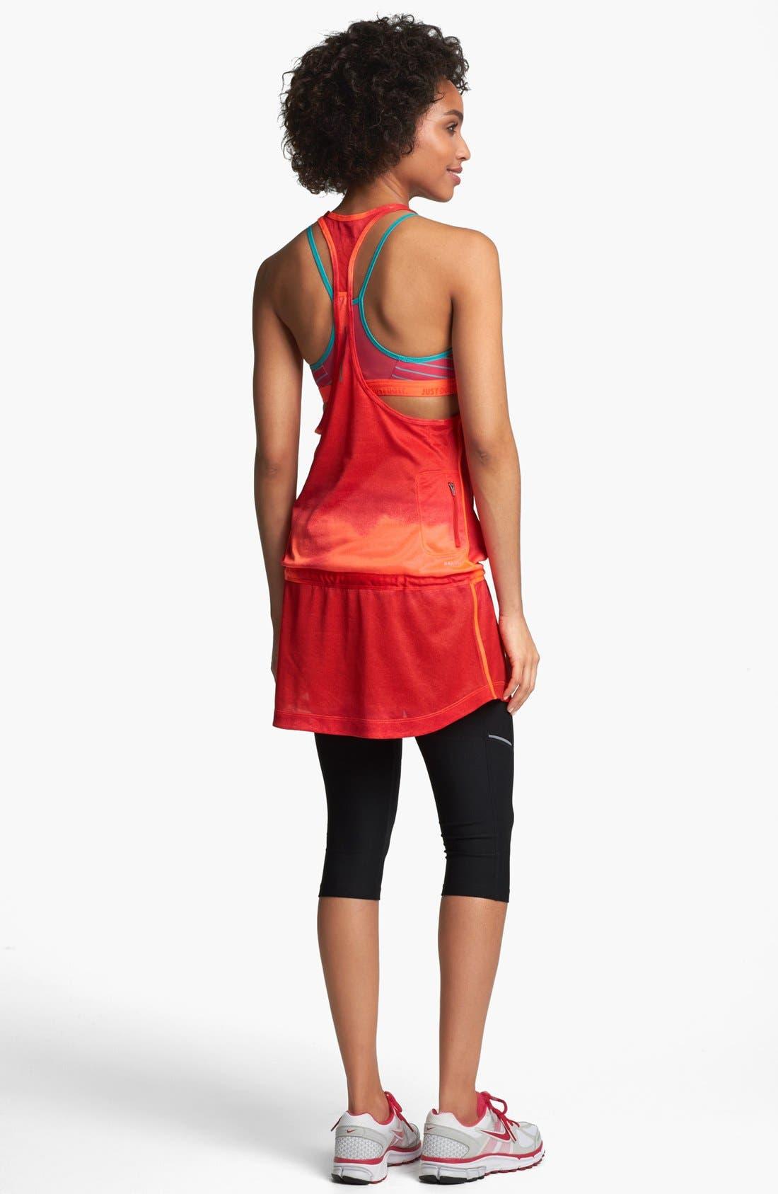 Alternate Image 2  - Nike Tie Dye Running Dress