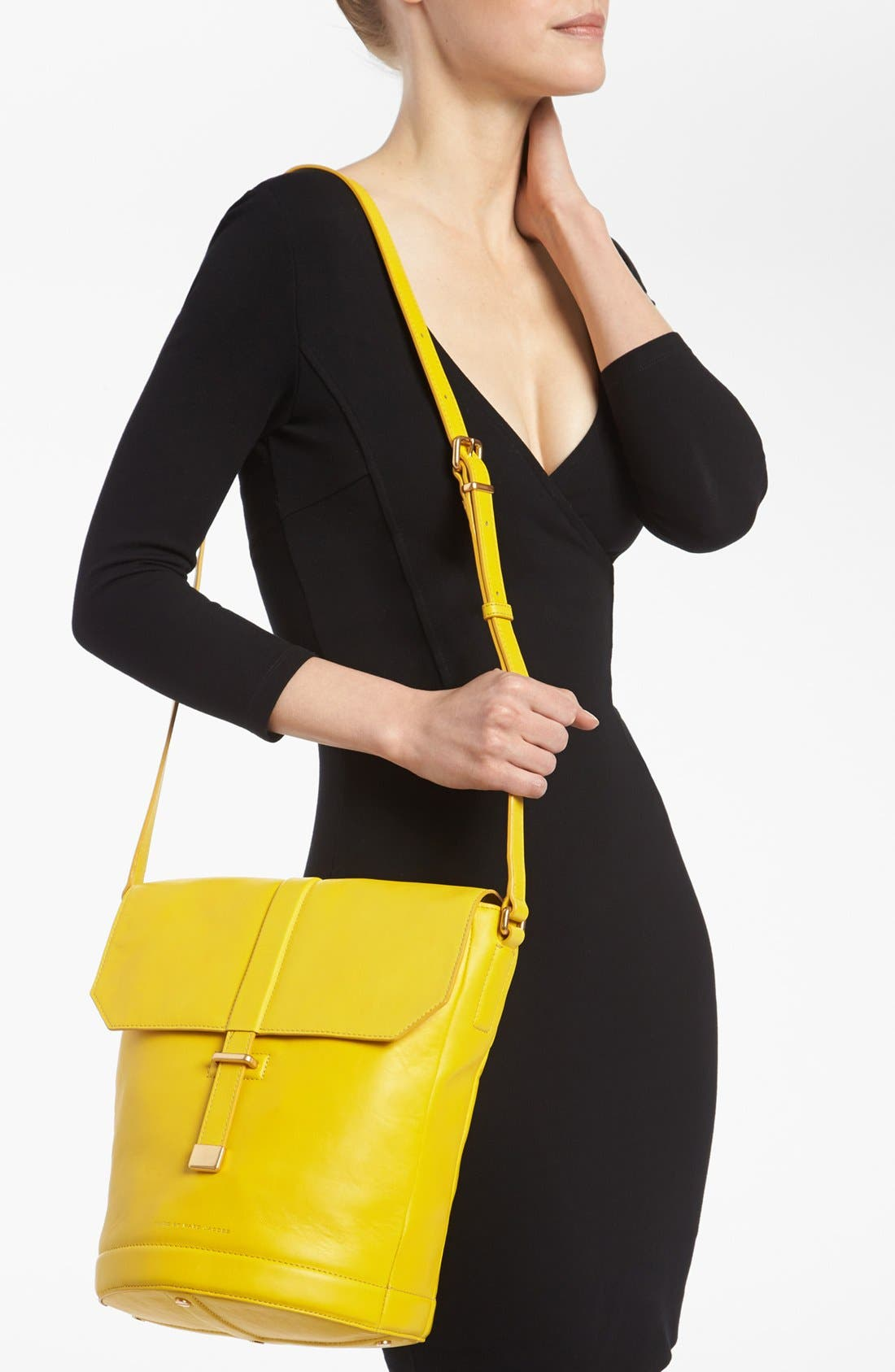 Alternate Image 2  - MARC BY MARC JACOBS 'Natural Selection - Alicia' Leather Bucket Bag