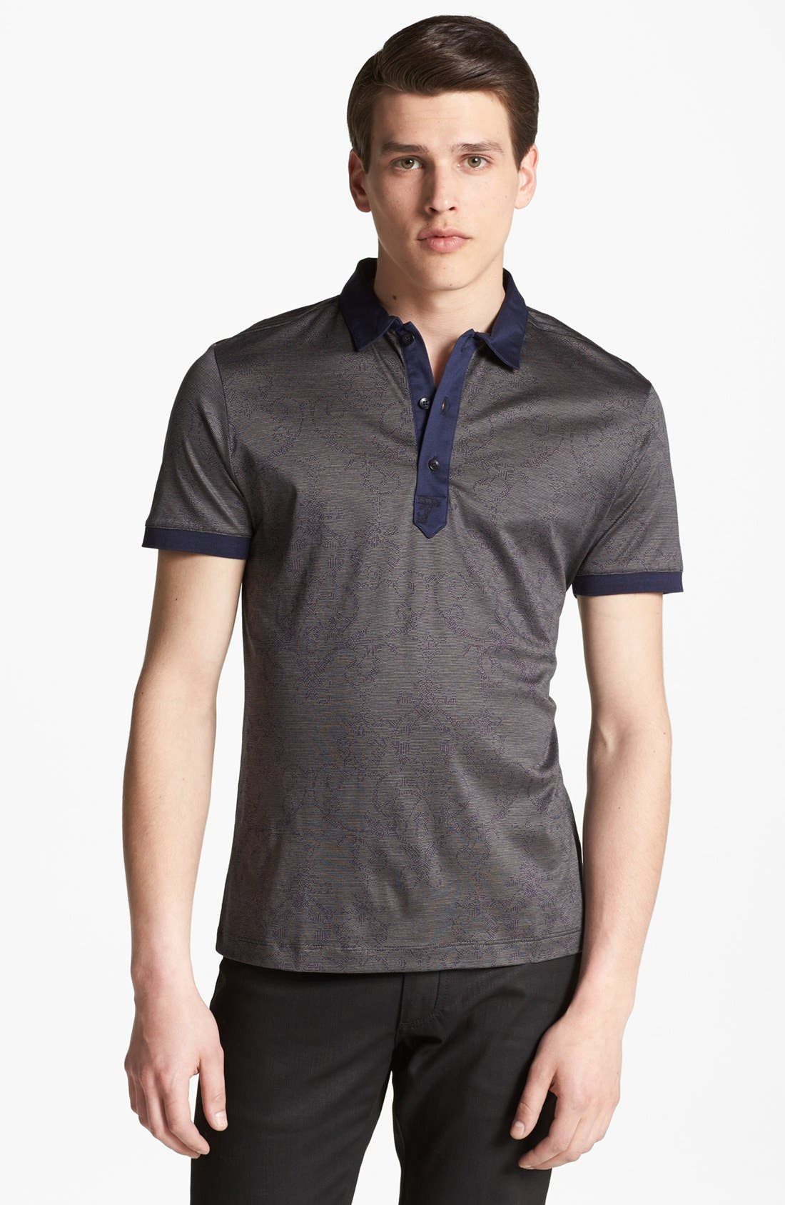 Alternate Image 1 Selected - Versace Cotton Polo
