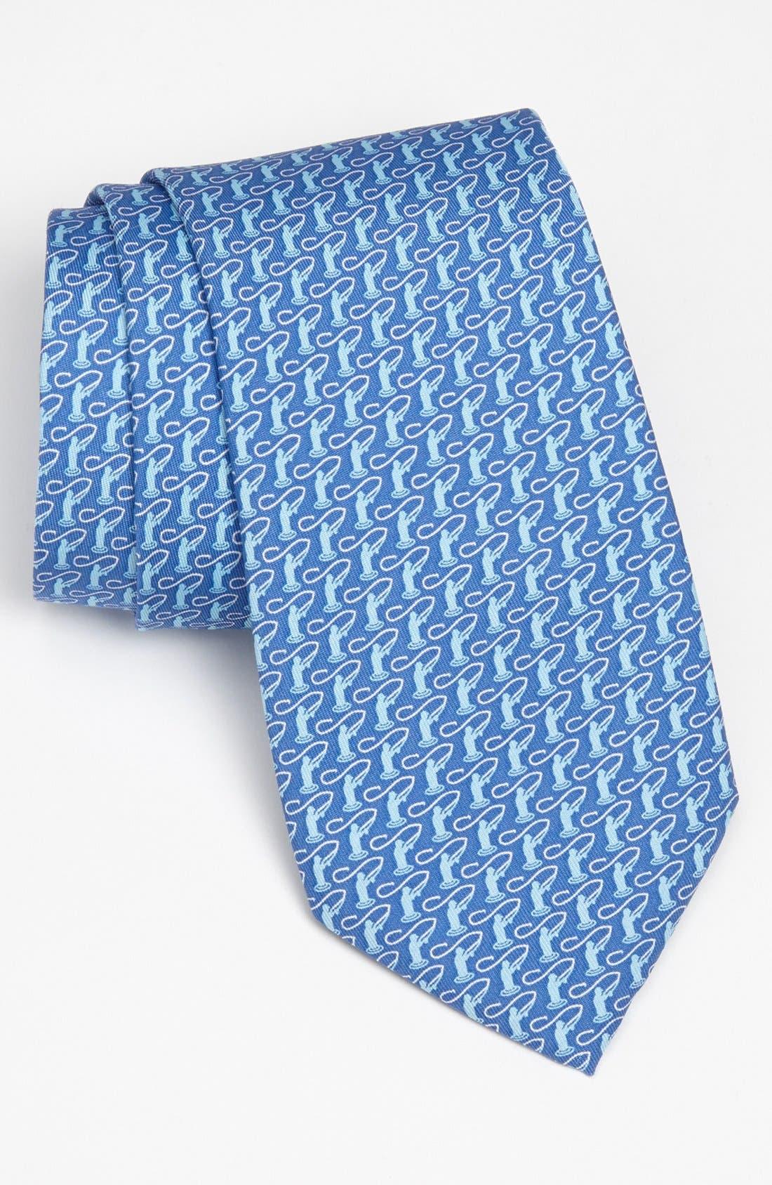 Alternate Image 1 Selected - Vineyard Vines Woven Silk Tie