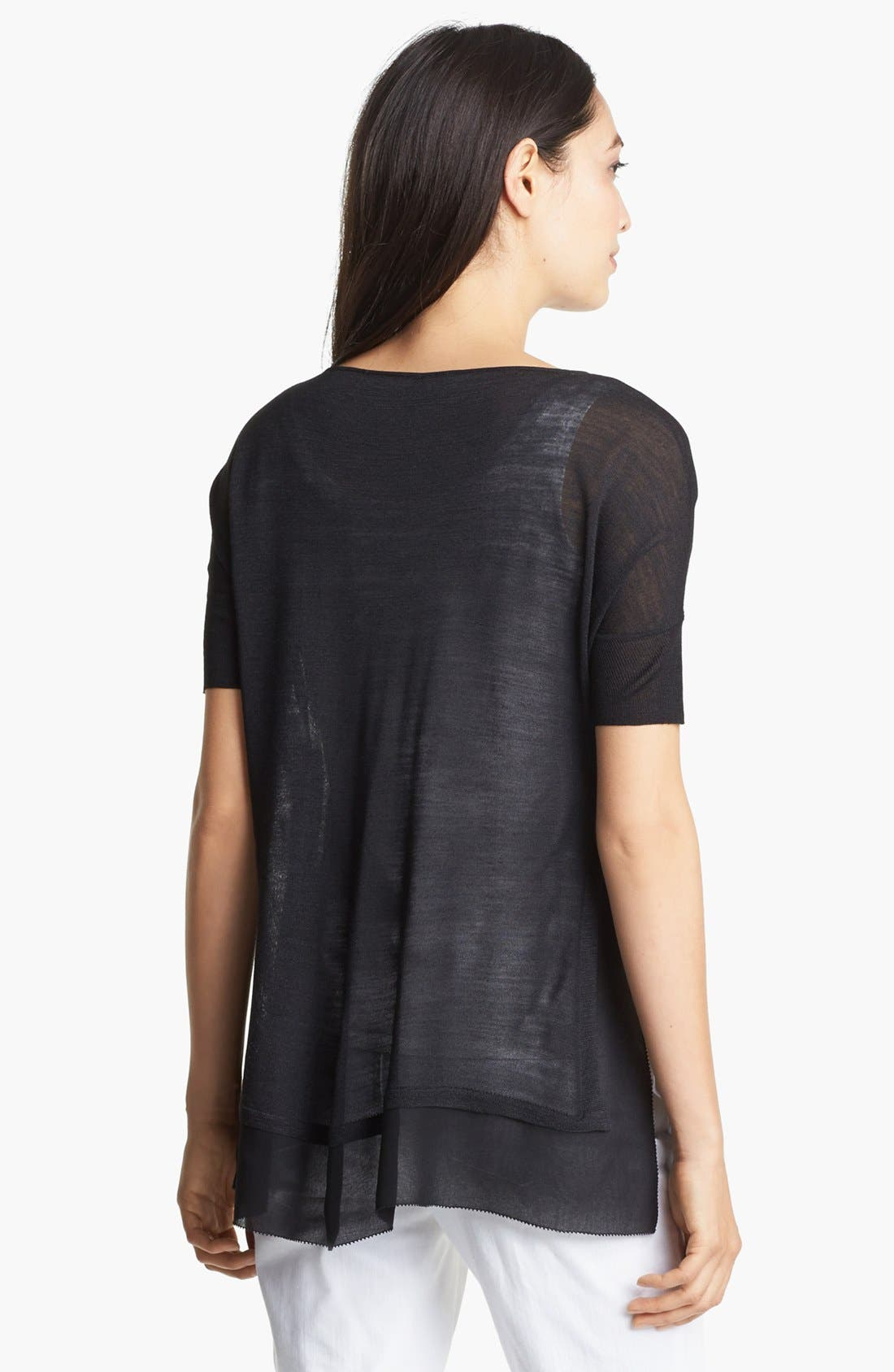 Alternate Image 2  - Eileen Fisher V-Neck Boxy Top