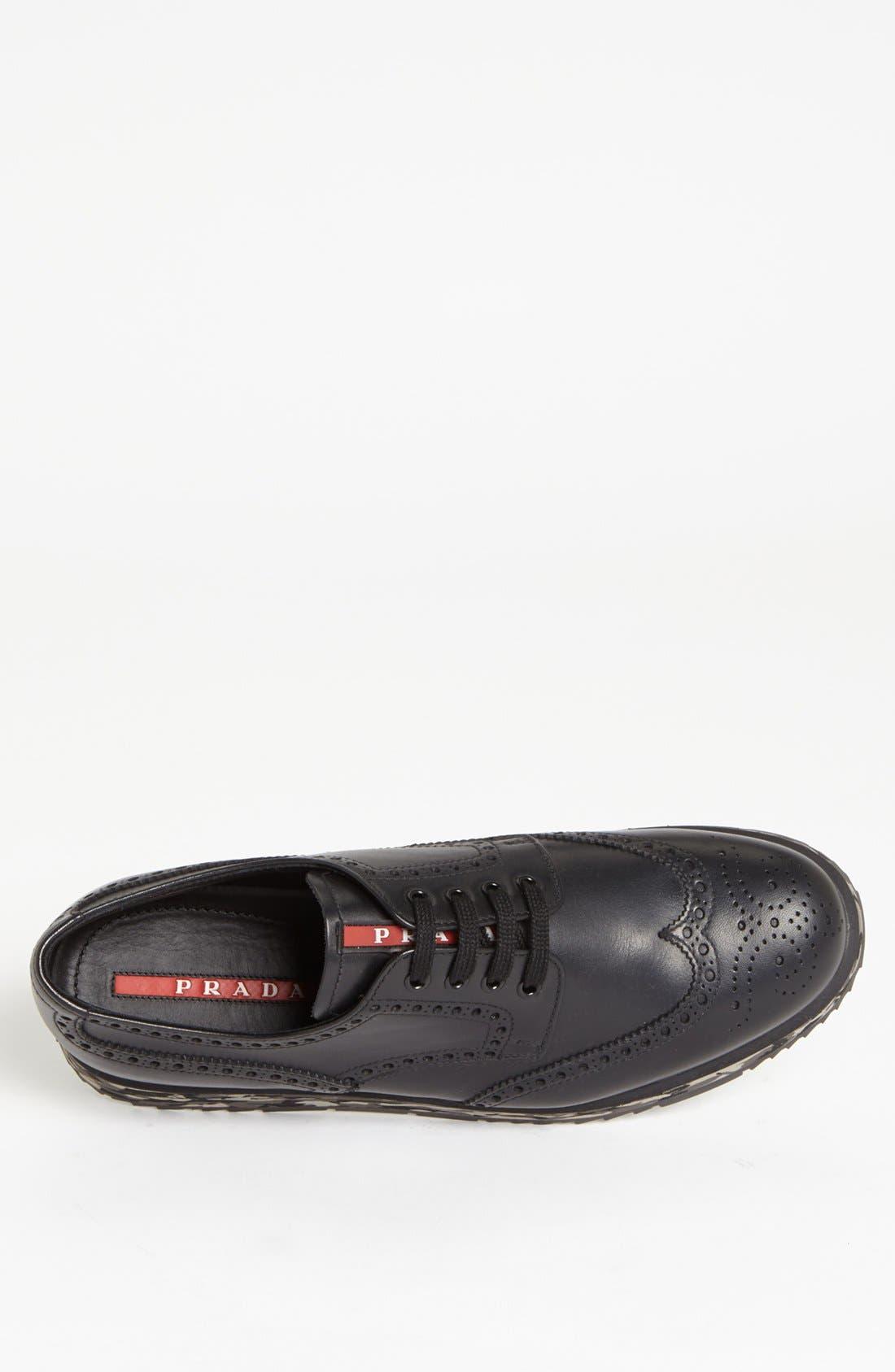 Alternate Image 3  - Prada Wingtip Sneaker