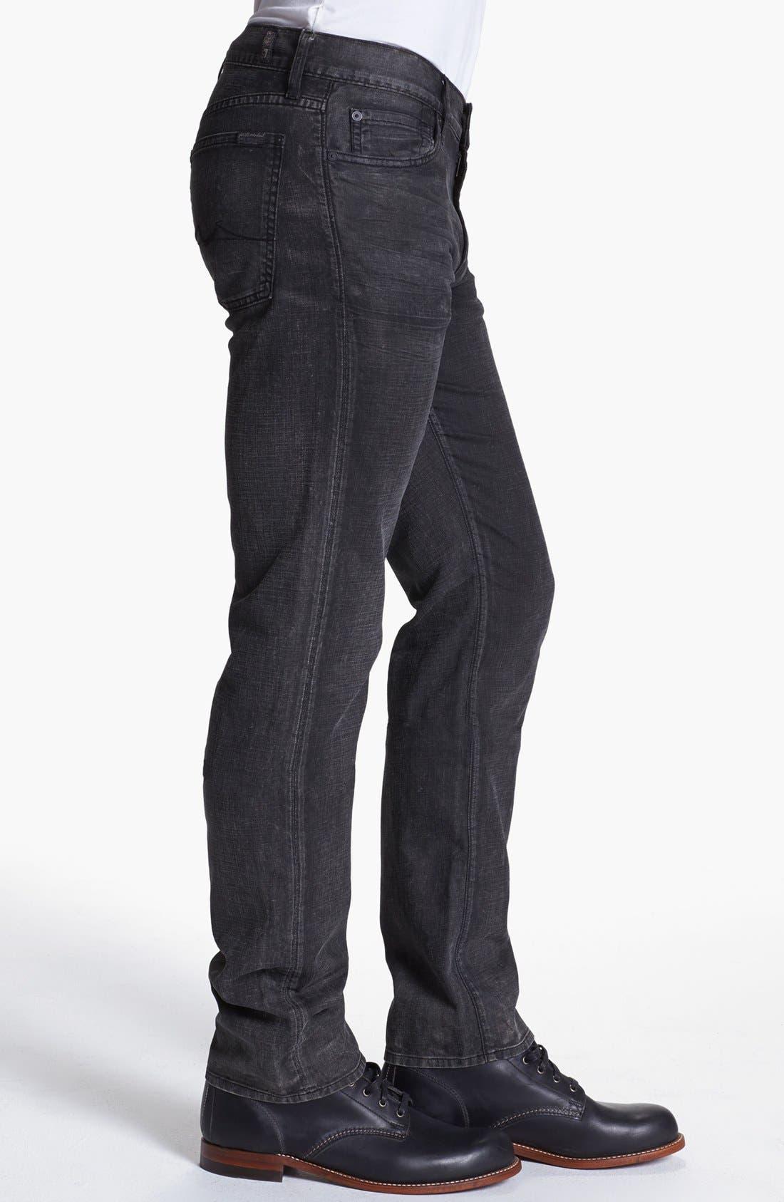 Alternate Image 3  - 7 For All Mankind® 'Slimmy' Slim Fit Jeans (Seven Mile Lane)