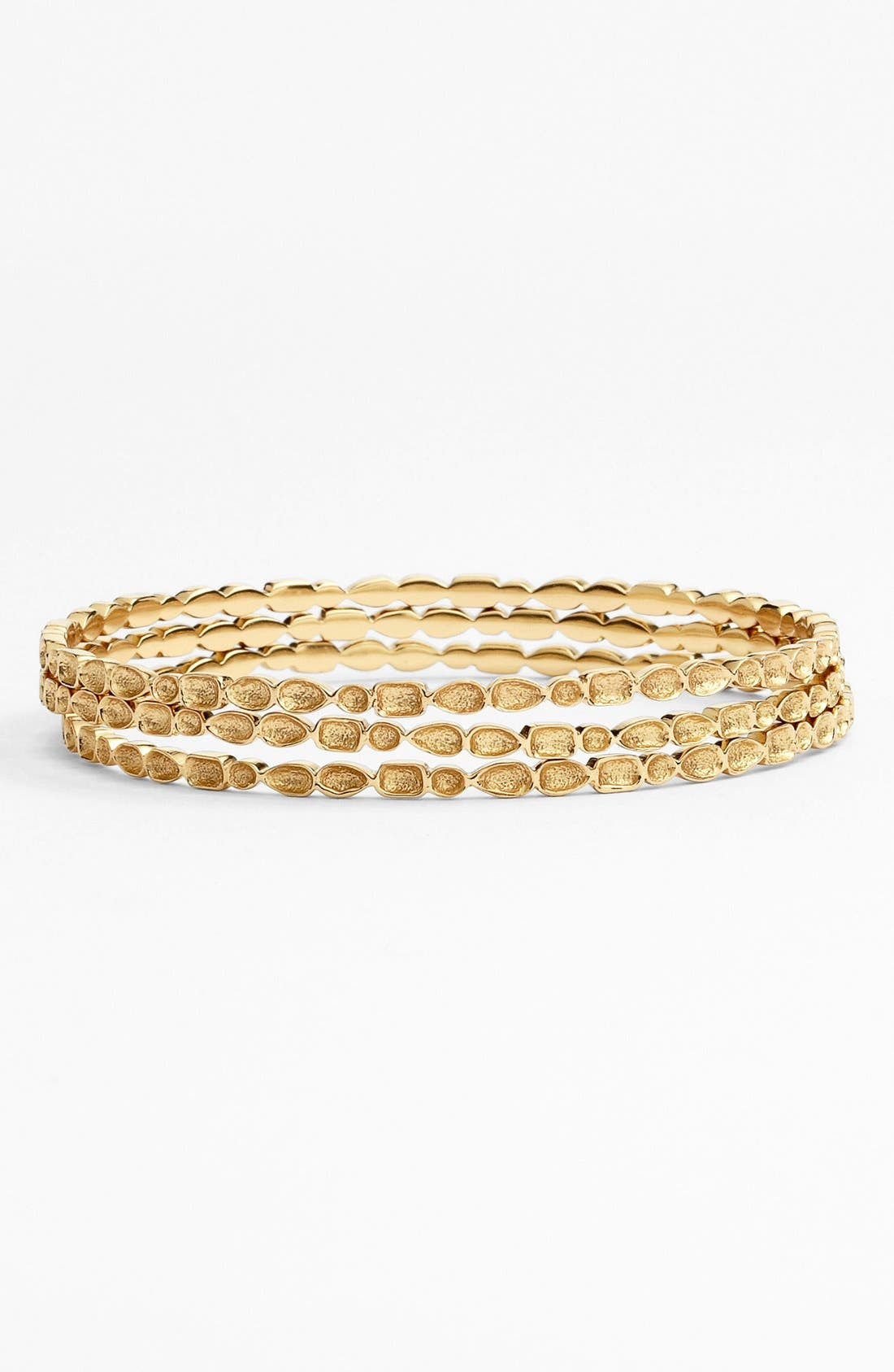 Alternate Image 1 Selected - Melinda Maria 'Mosaic' Bangle Set (Set of 3) (Nordstrom Exclusive)