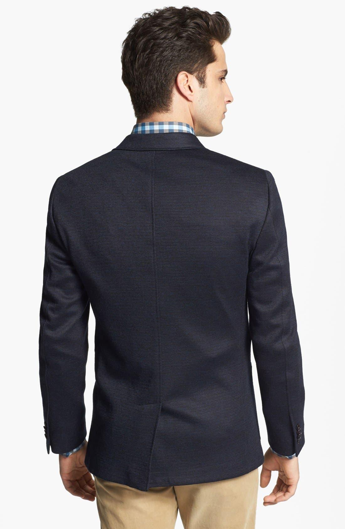 Alternate Image 3  - John Varvatos Star USA 'Fagan' Trim Fit Knit Sportcoat