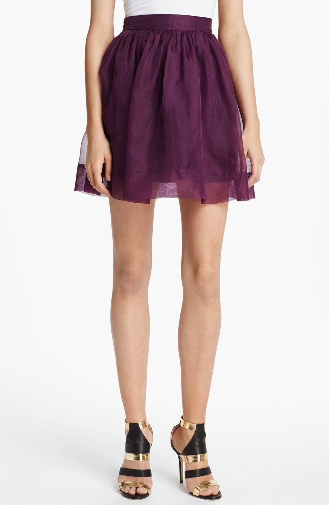Alternate Image 1 Selected - Elizabeth and James 'Sarafina' Silk Skirt
