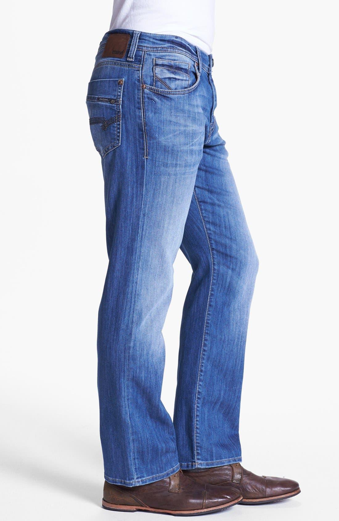 Alternate Image 3  - Mavi Jeans 'Matt' Relaxed Leg Jeans (Light Cooper)