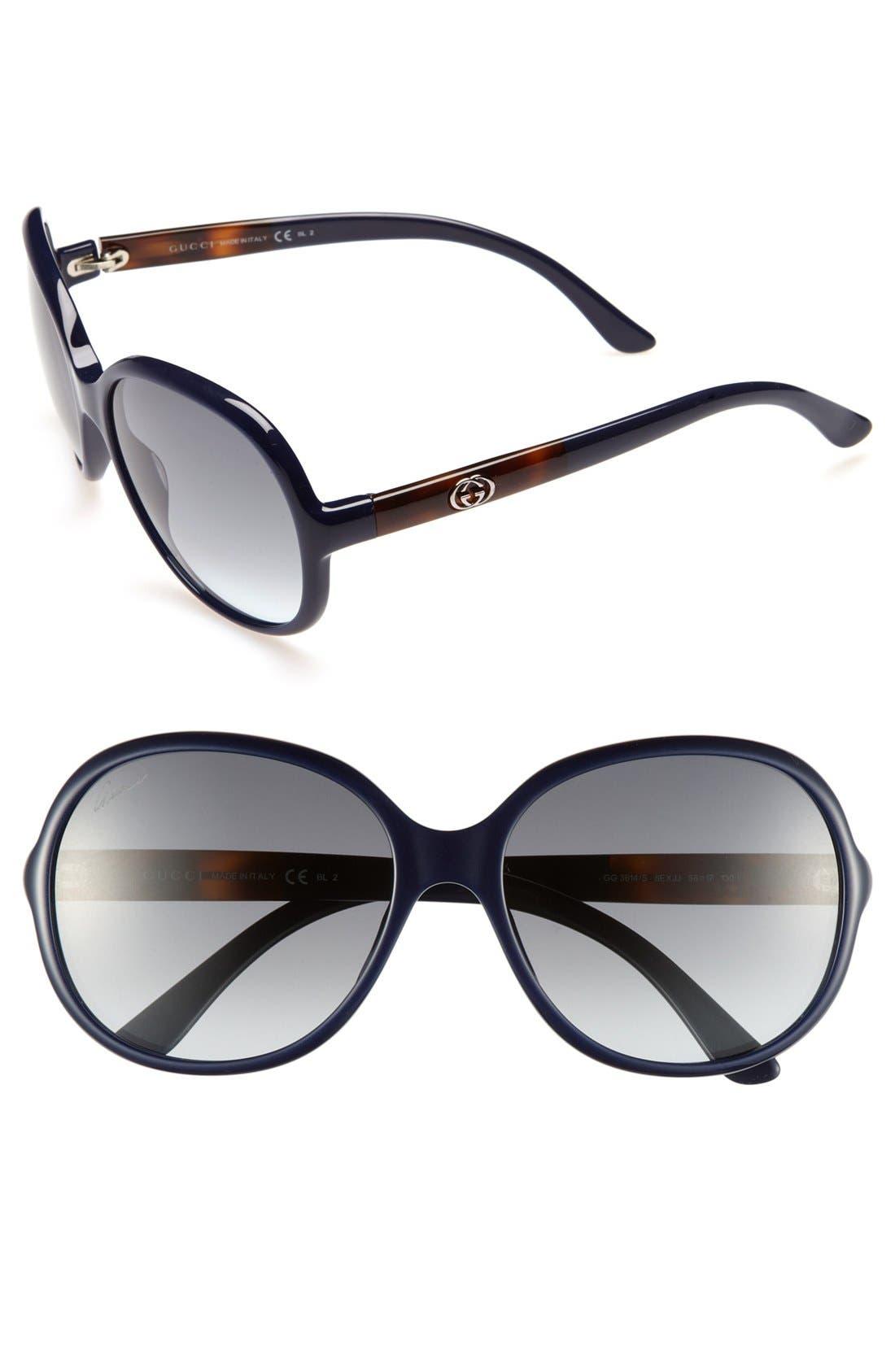 Main Image - Gucci 58mm Sunglasses