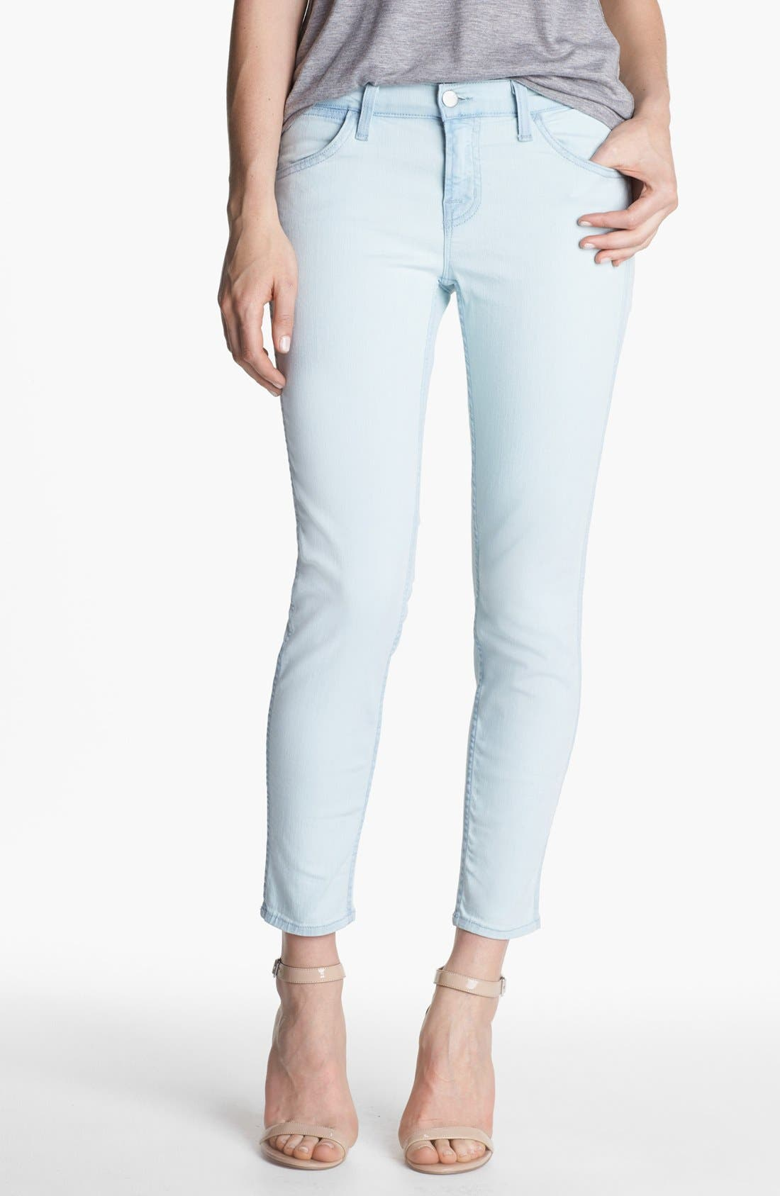 Alternate Image 1 Selected - J Brand 'Allegra' Ankle Skinny Jeans (Nirvana Sky)
