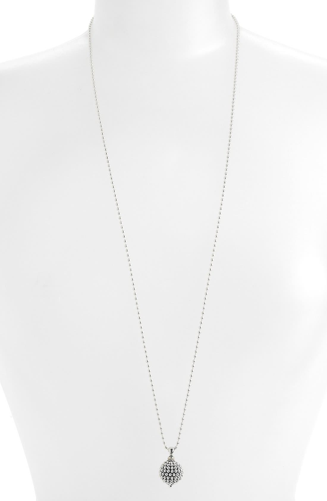 Alternate Image 3  - LAGOS Sterling Silver Ball Long Pendant Necklace