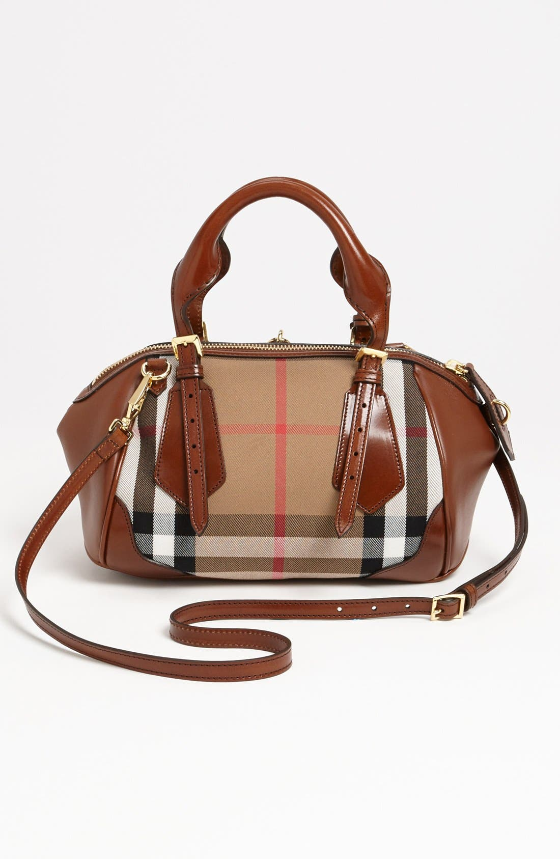 Alternate Image 4  - Burberry 'House Check Blaze - Small' Tote