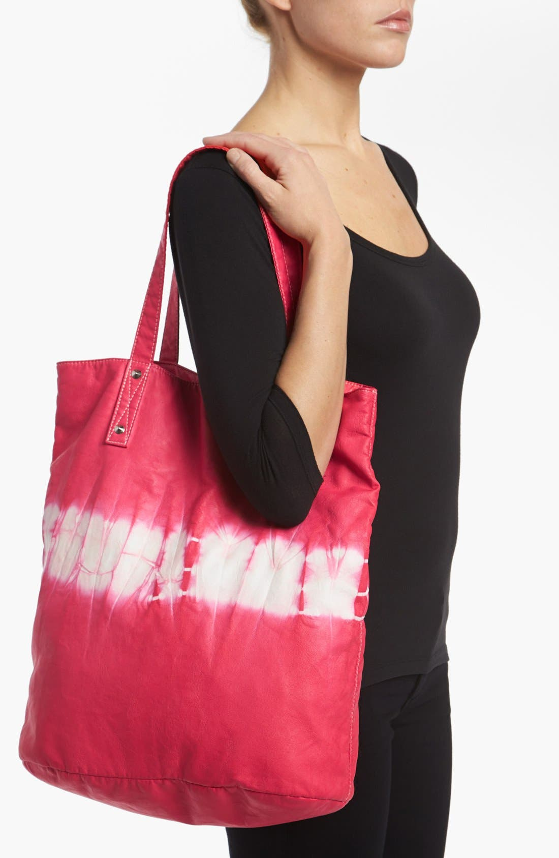 Alternate Image 2  - Cesca Tie Dye Tote (Juniors) (Online Only)