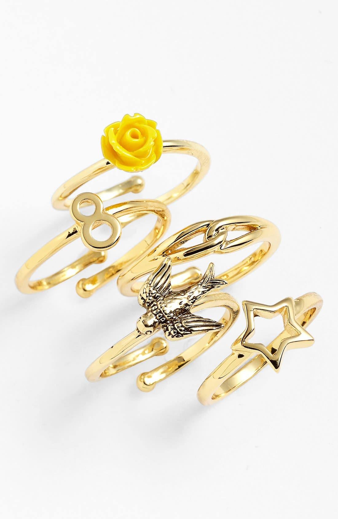 Alternate Image 2  - Ariella Collection Midi Ring (Nordstrom Exclusive)