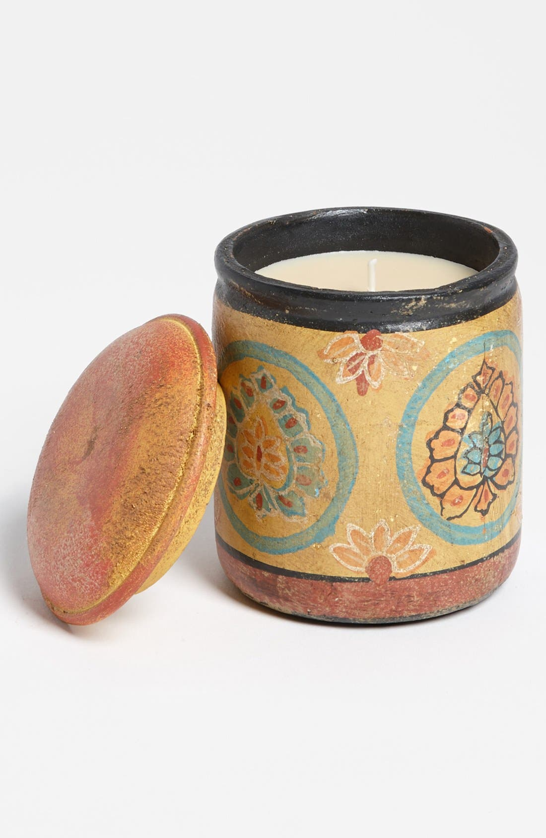 Alternate Image 1 Selected - Himalayan Trading Post Terracotta Pot Candle