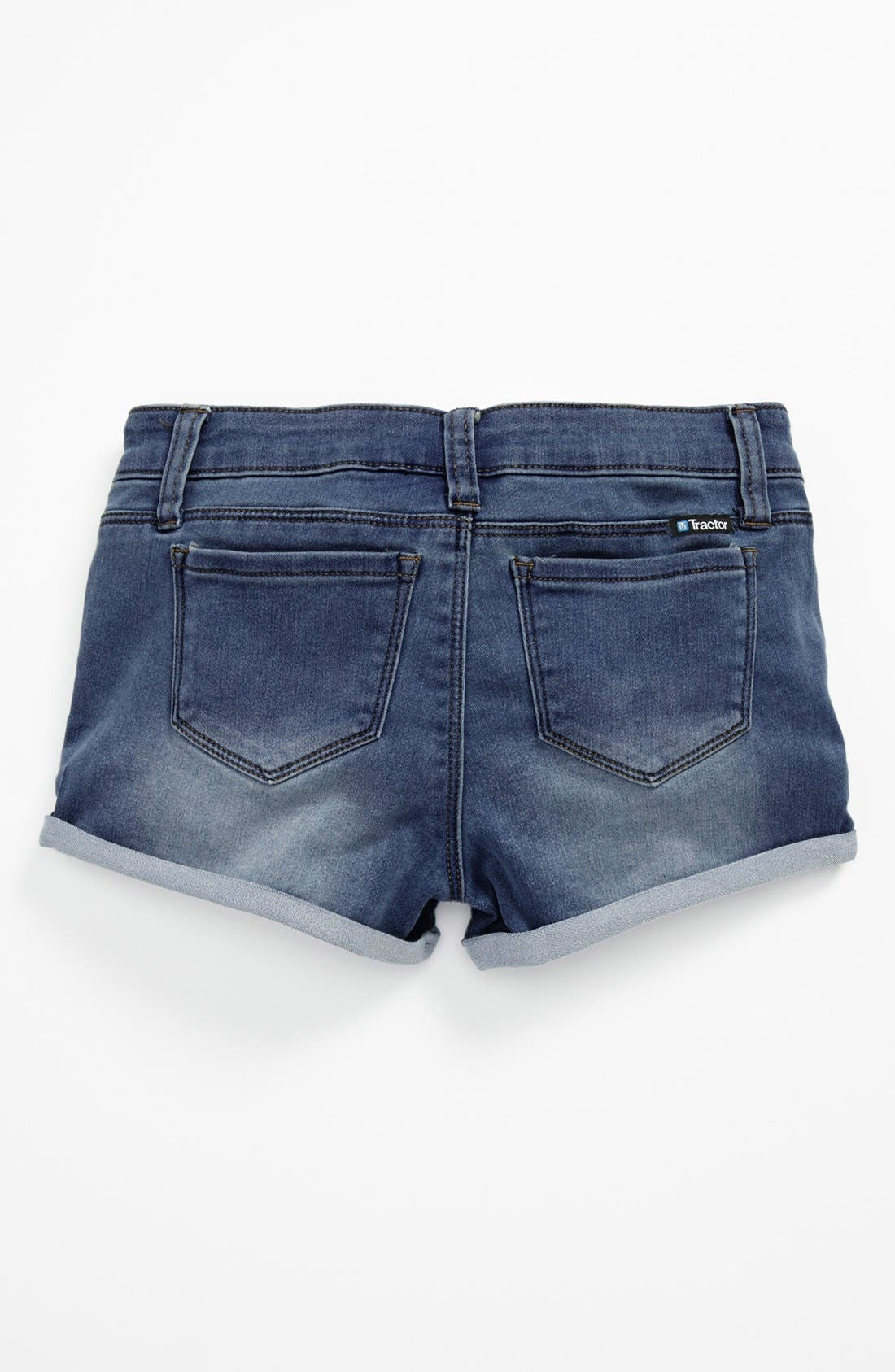Alternate Image 2  - Tractr 'Roll Up' Shorts (Big Girls)