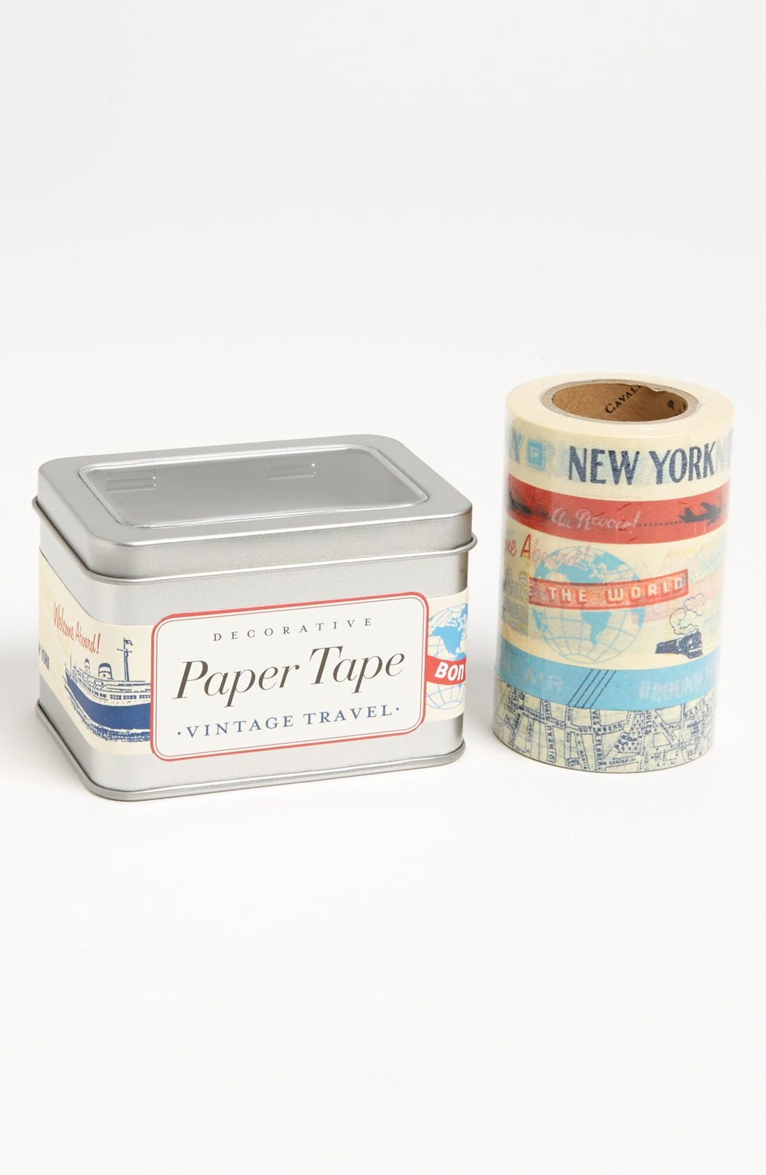 Alternate Image 1 Selected - Vintage Print Paper Tape