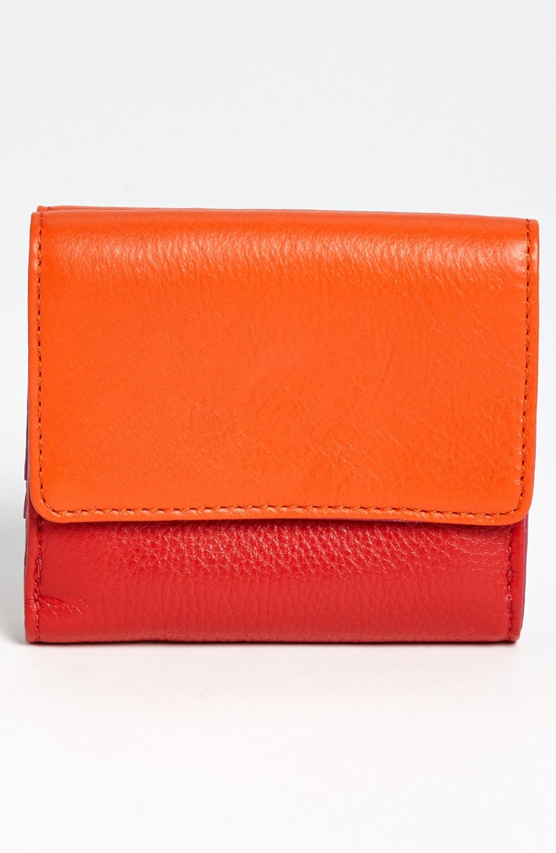 Alternate Image 3  - Tory Burch 'Clay' Double Flap French Wallet