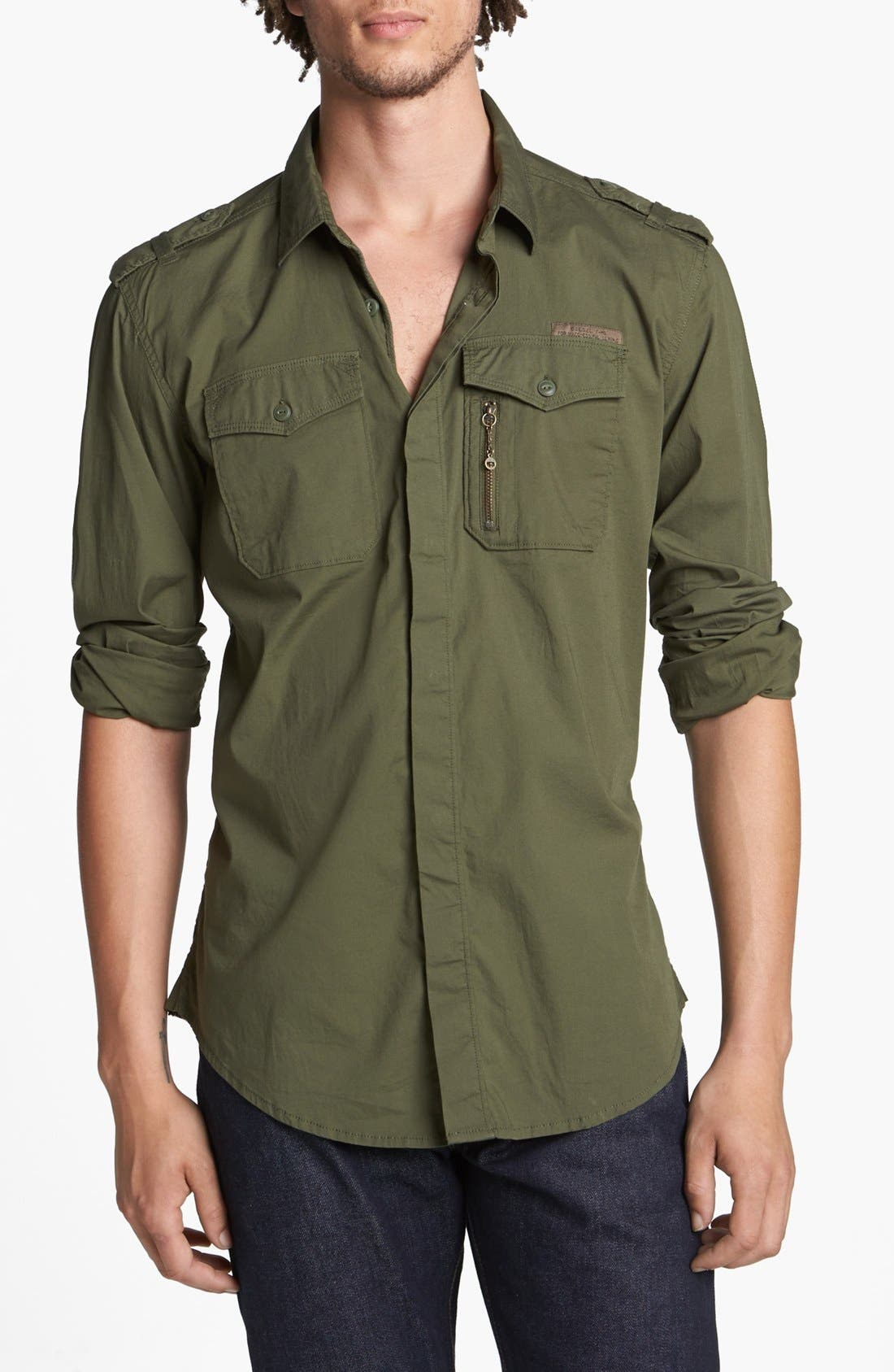 Alternate Image 1 Selected - DIESEL® 'Siranella' Shirt