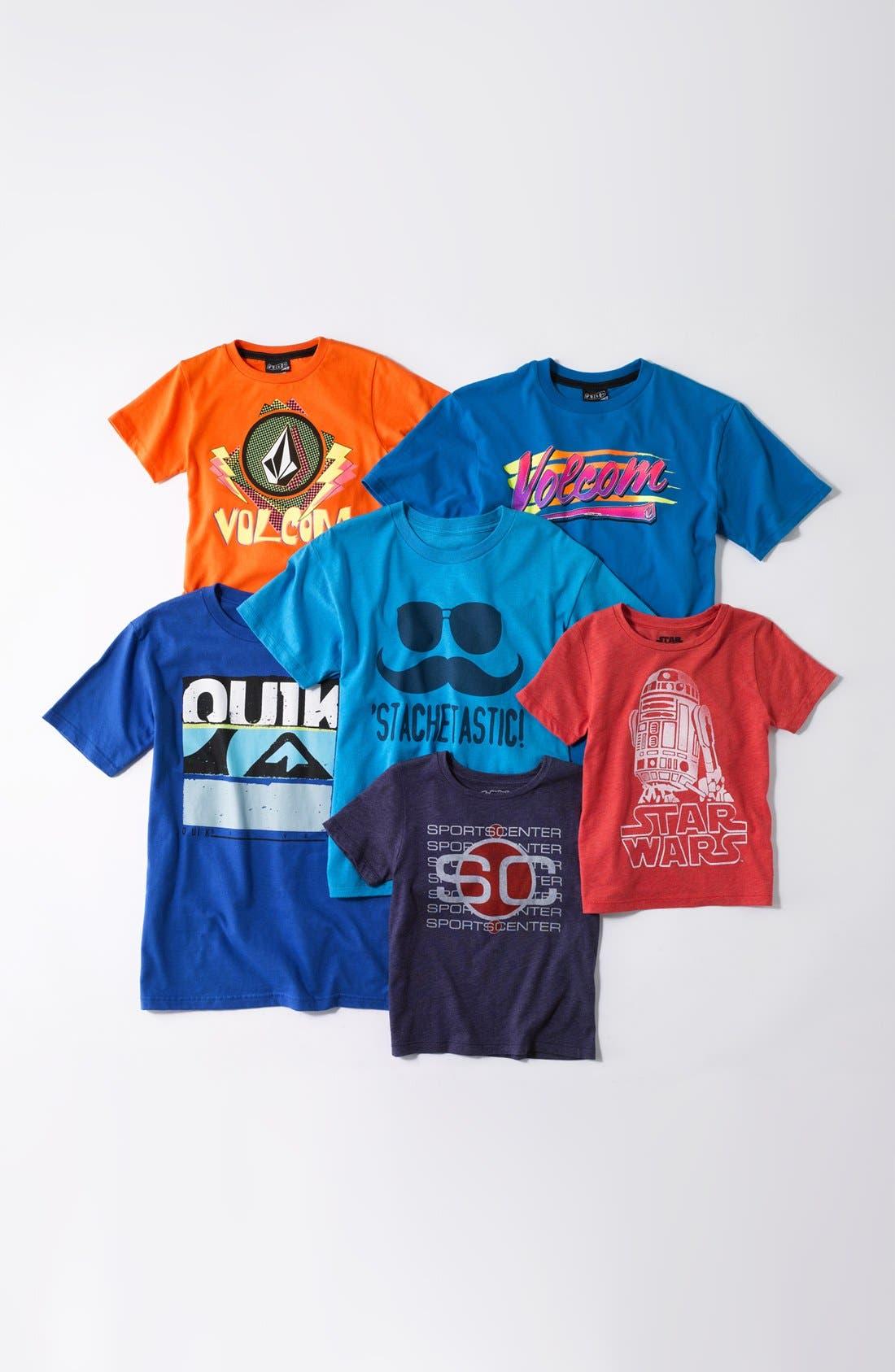 Alternate Image 2  - Quiksilver 'Unglued' T-Shirt (Little Boys & Big Boys) (Online Only)