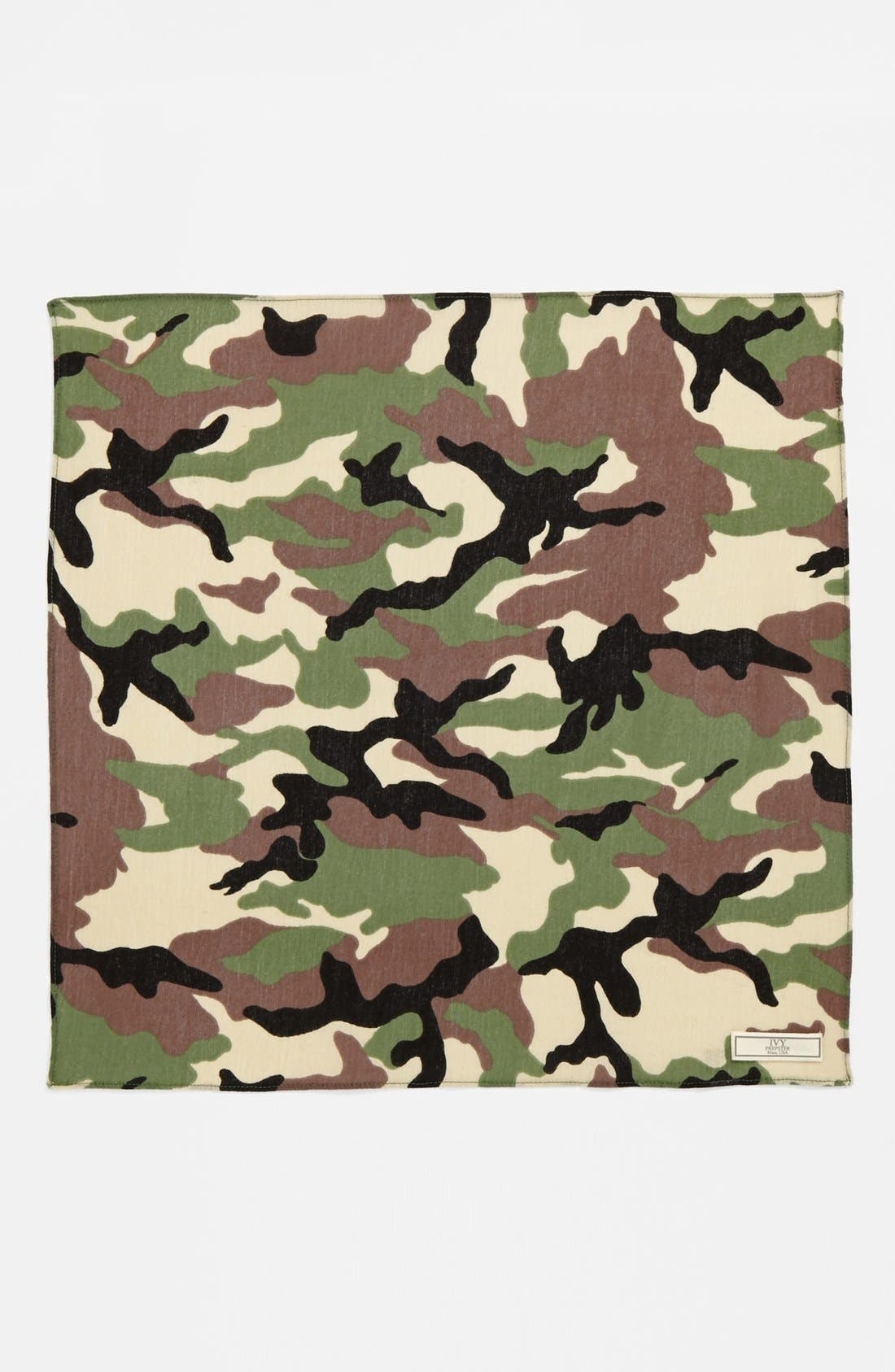 Alternate Image 2  - Ivy Prepster Camo Pocket Square