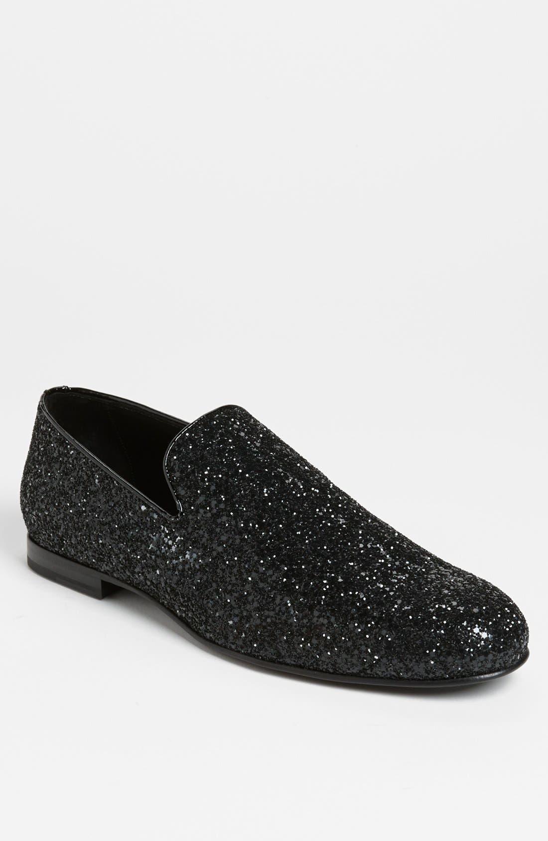 White Leather Guy Slip-On Sneakers Jimmy Choo London RXkOx