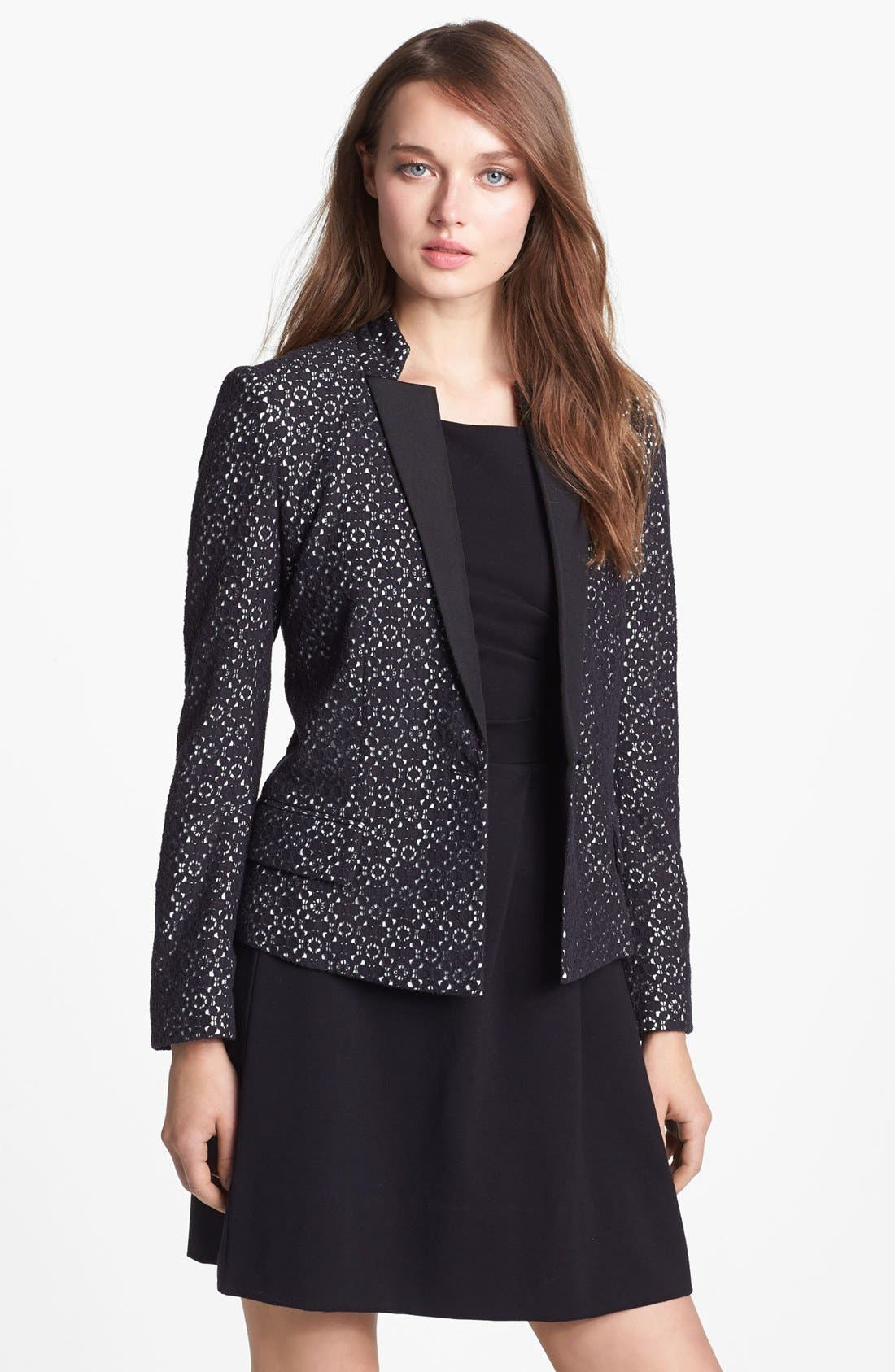 Alternate Image 1 Selected - MARC BY MARC JACOBS 'Collage' Lace Blazer
