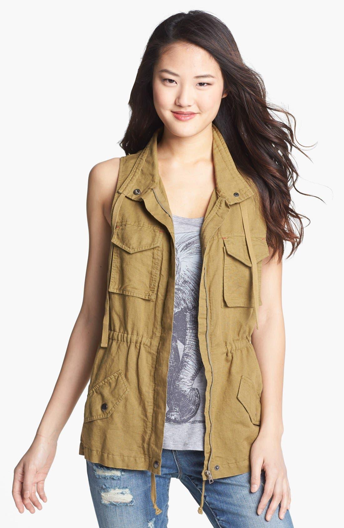 Alternate Image 1 Selected - C & C California Safari Vest (Online Only)