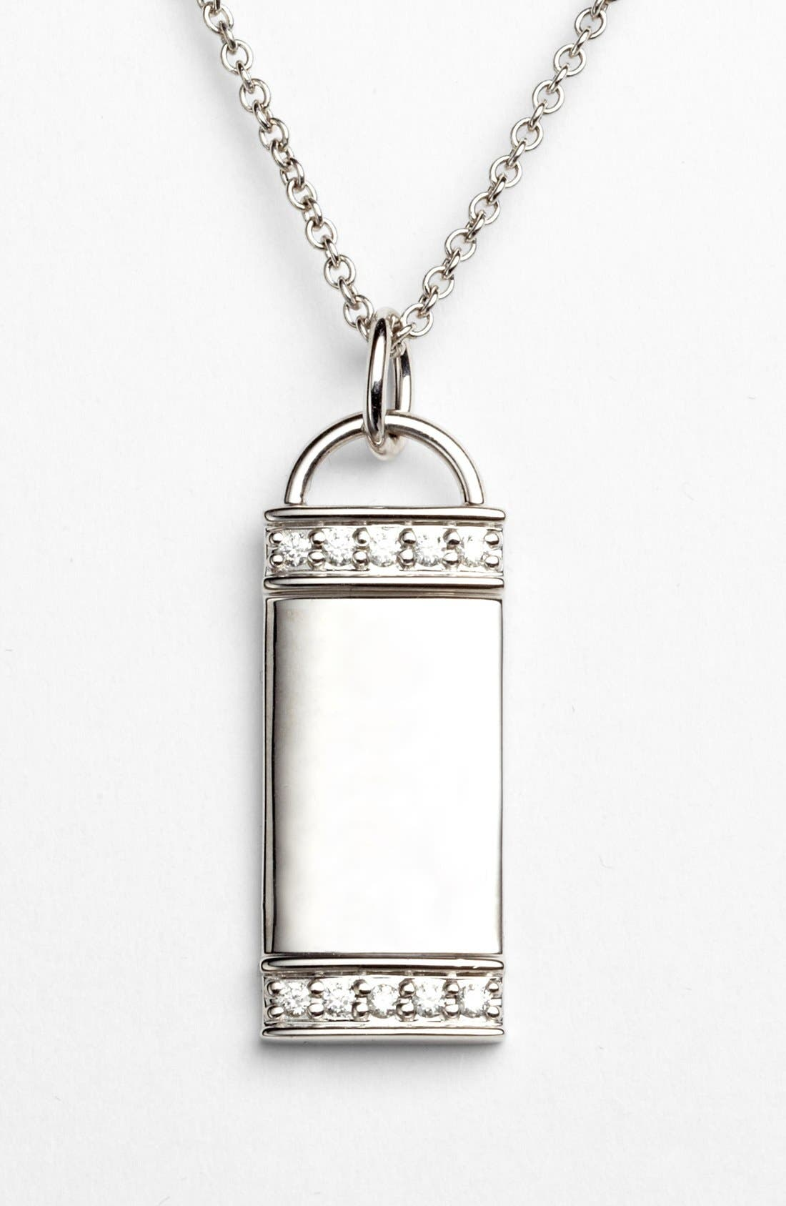 Alternate Image 1 Selected - Kwiat 'Mollie Faith' Tablet Pendant Necklace