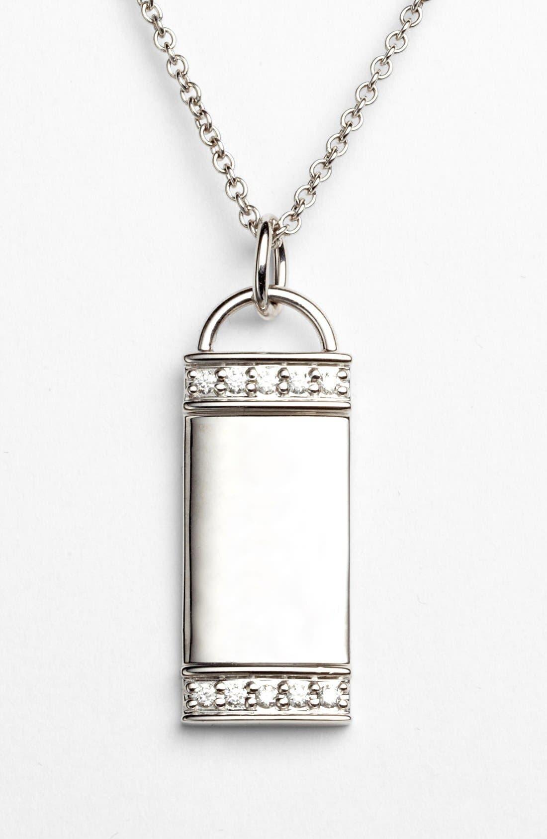 Main Image - Kwiat 'Mollie Faith' Tablet Pendant Necklace