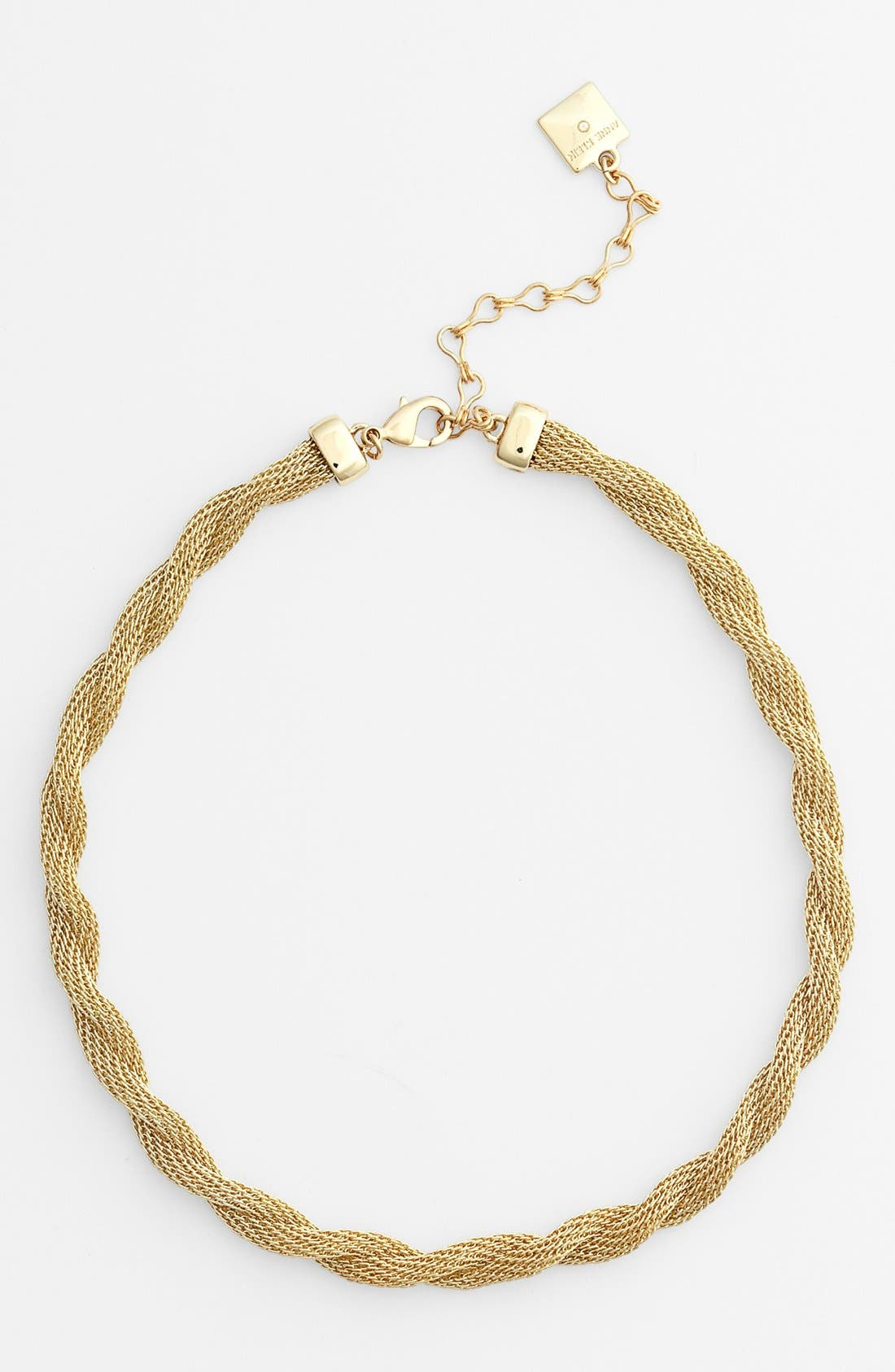 Alternate Image 1 Selected - Anne Klein Twisted Collar Necklace