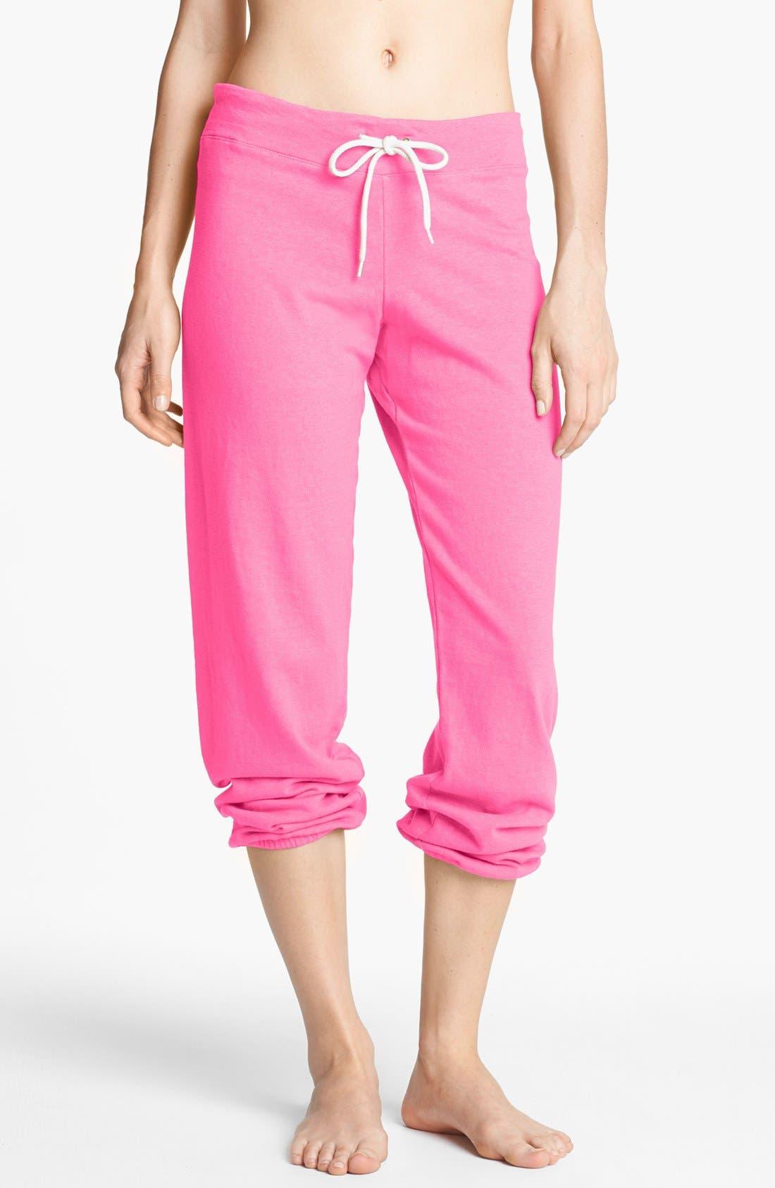 Alternate Image 1 Selected - Monrow Vintage Fleece Sweatpants