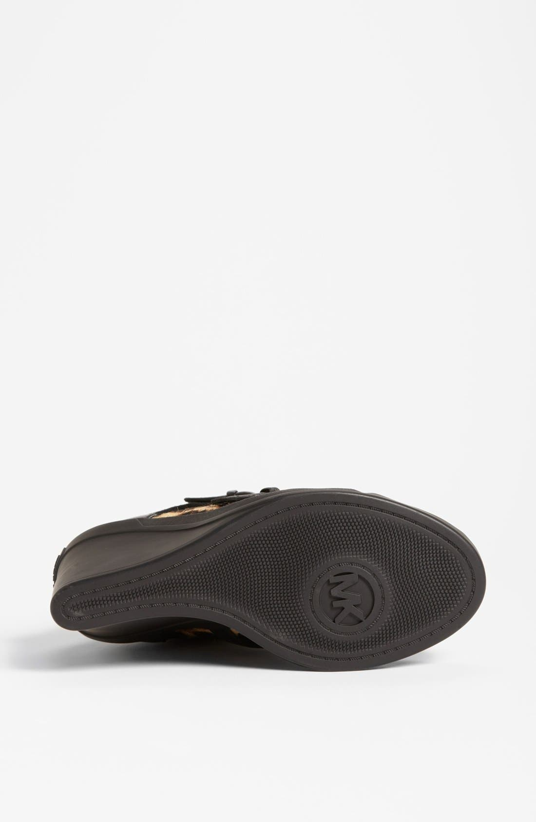 Alternate Image 4  - MICHAEL Michael Kors 'Skid' Wedge Sneaker