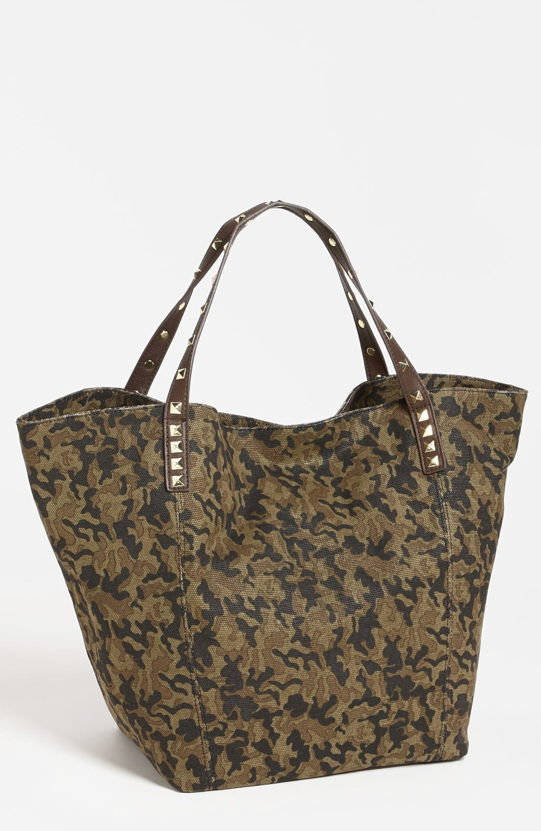 Alternate Image 1 Selected - Steve Madden Studded Tote, Extra Large
