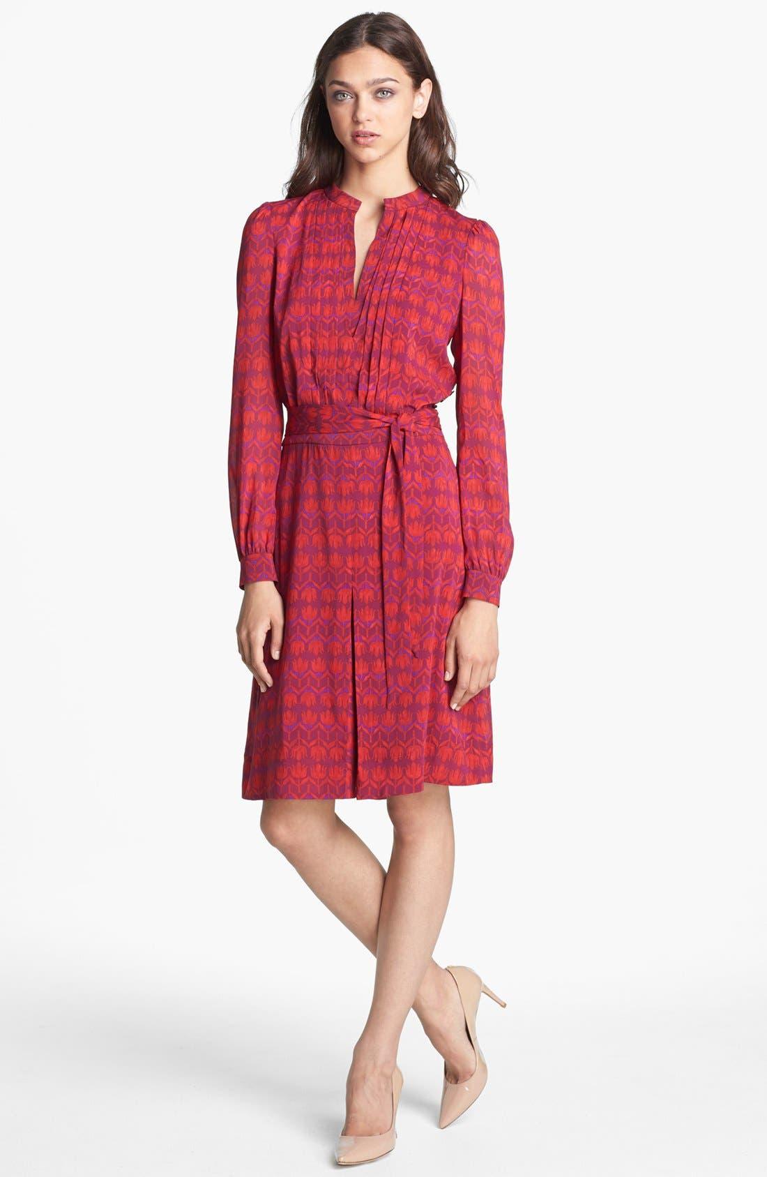 Alternate Image 1 Selected - Tory Burch 'Judi' Silk Shirtdress