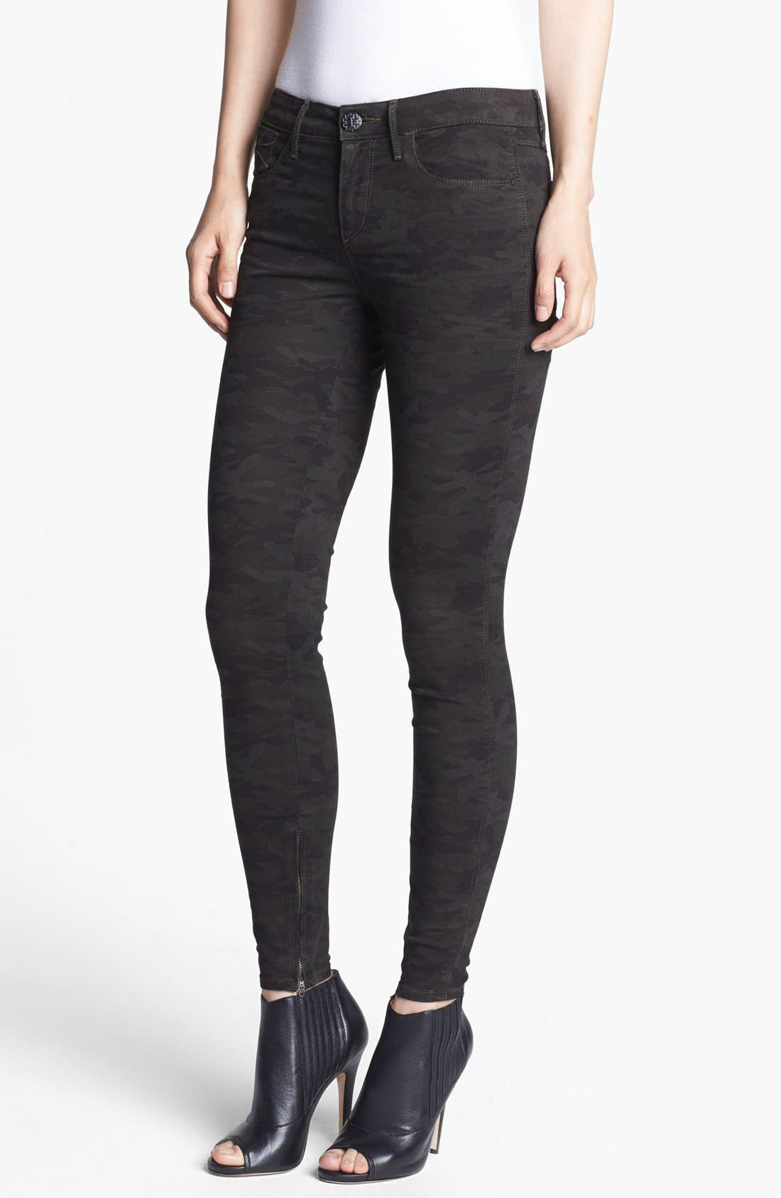 Main Image - Habitual 'Almas' Camo Print Skinny Stretch Jeans (Nordstrom Exclusive)