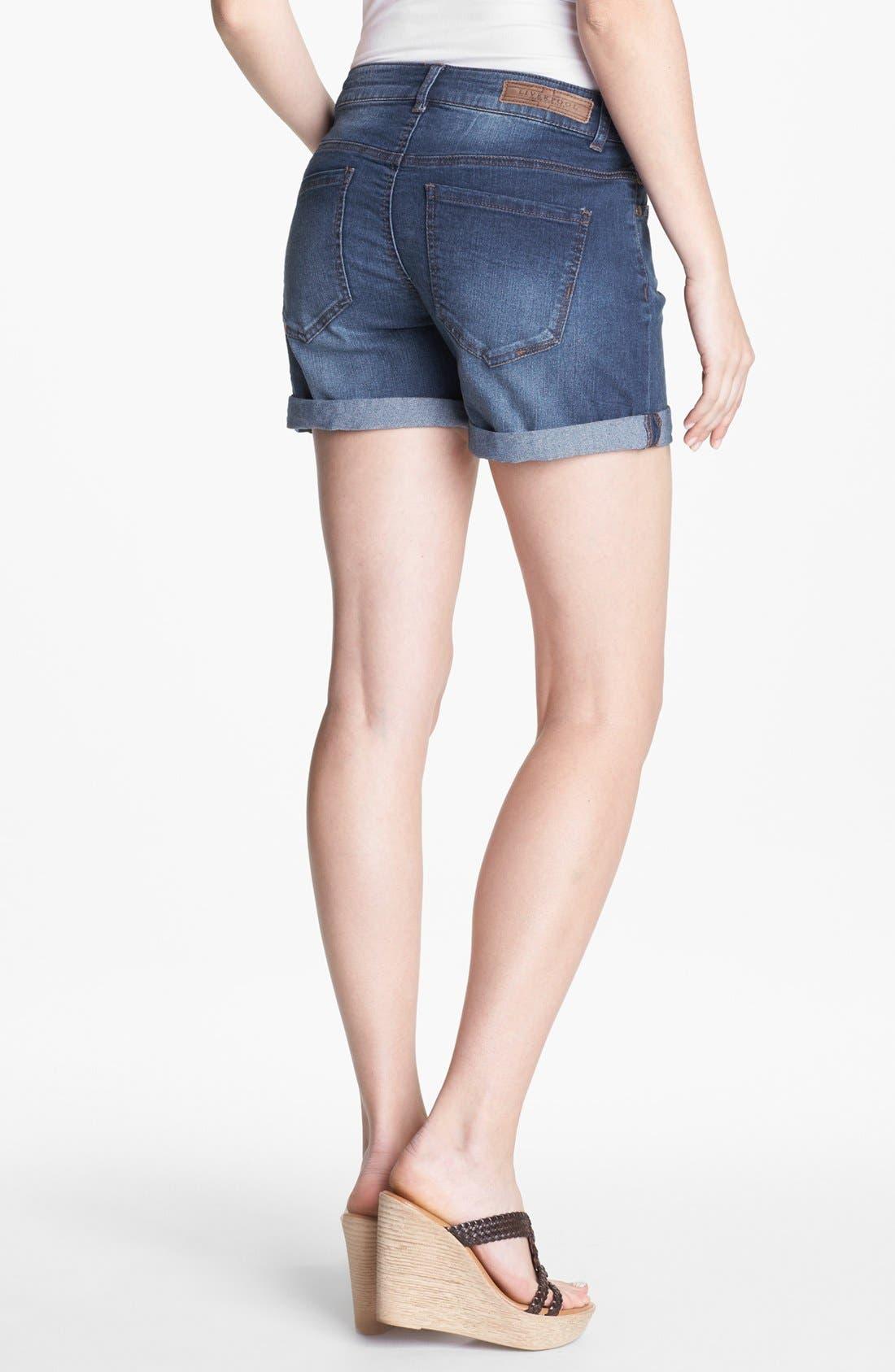 Alternate Image 2  - Liverpool Jeans Company 'Linda' Denim Shorts