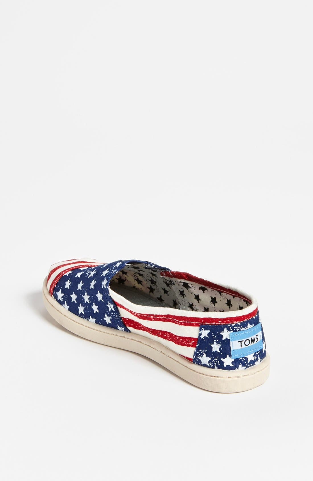 Alternate Image 2  - TOMS 'Classic Youth - Stars & Stripes' Slip-On (Toddler, Little Kid & Big Kid)