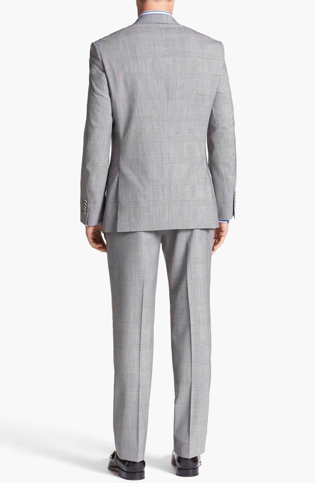 Alternate Image 3  - English Laundry Trim Fit Plaid Suit