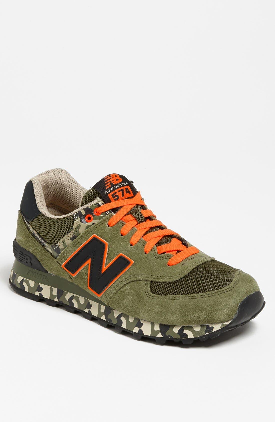 Alternate Image 1 Selected - New Balance '574 Camo' Sneaker (Men)